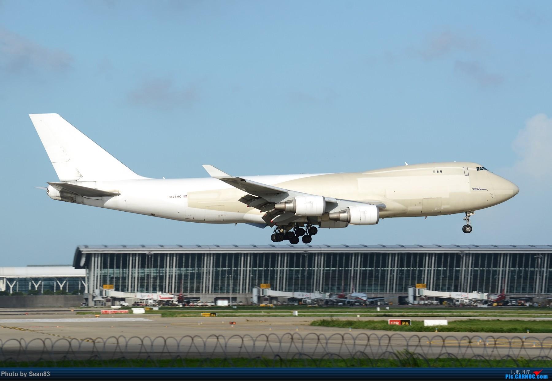 [原创](PVG 1800*)褪去涂装的阿提哈德货运747-400 BOEING 747-400 N473MC 上海浦东国际机场