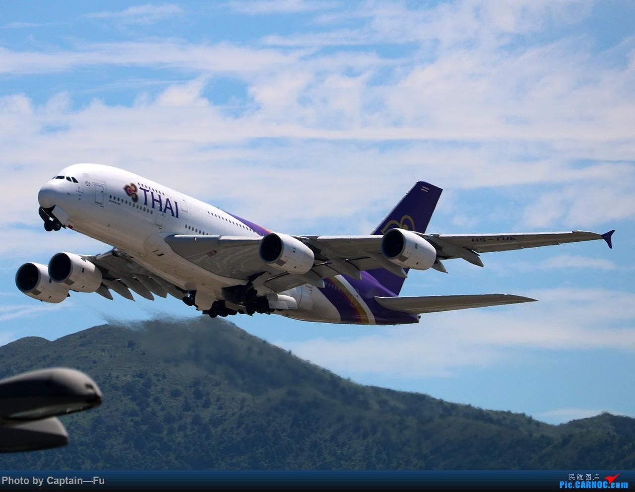 Re:[原创]香港拍机 AIRBUS A380-800 HS-TUE 中国香港国际机场