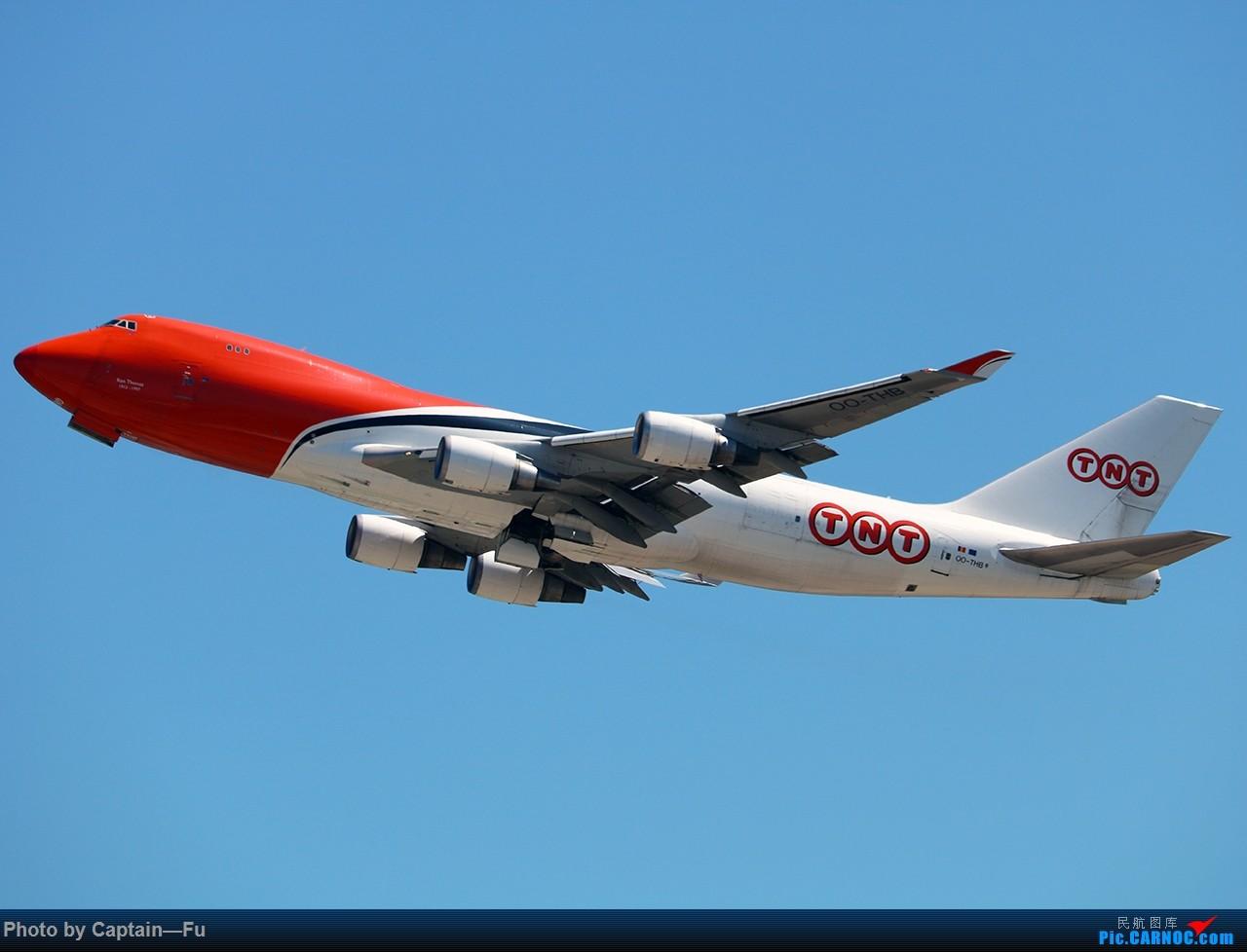 Re:[原创]香港拍机 BOEING 747-400 OO-THB 中国香港国际机场