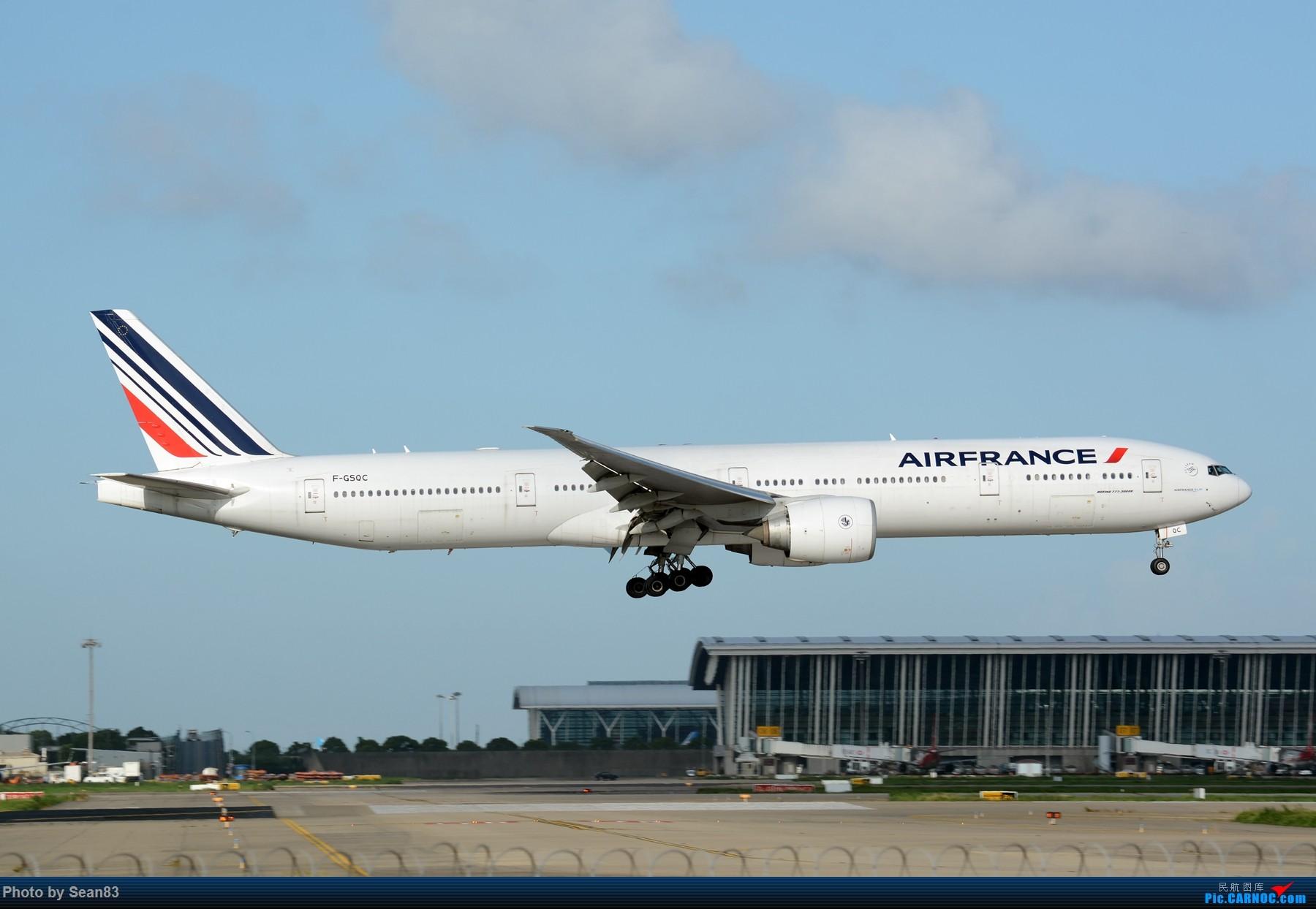 Re:[原创](PVG 1800*)七夕发个777 BOEING 777-300ER F-GSQC 上海浦东国际机场