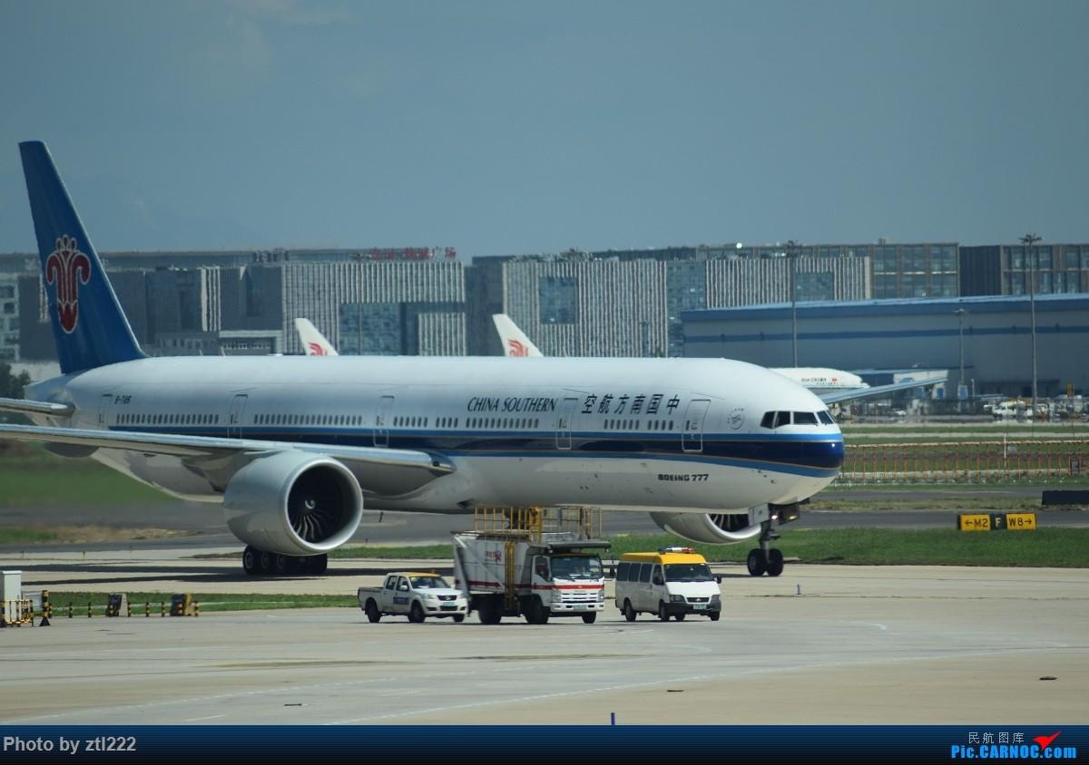 Re:【天天飞旅】第五集:暑期再南下---北京=南京 东航江苏公司A320初体验 BOEING 777-300ER B-7185 中国北京首都国际机场
