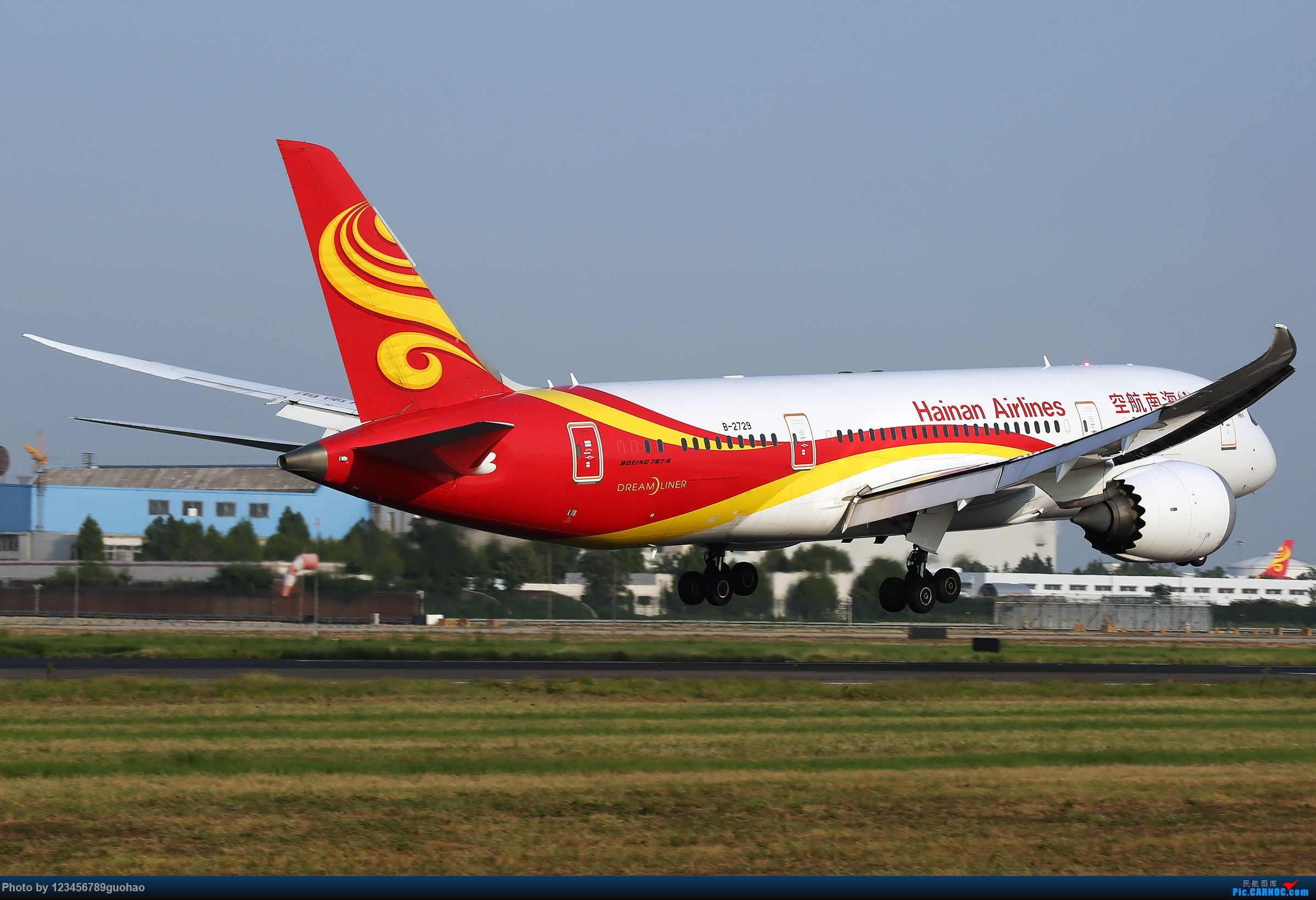 [原创]一图党-2400*1600 BOEING 787-8 B-2729 北京首都国际机场