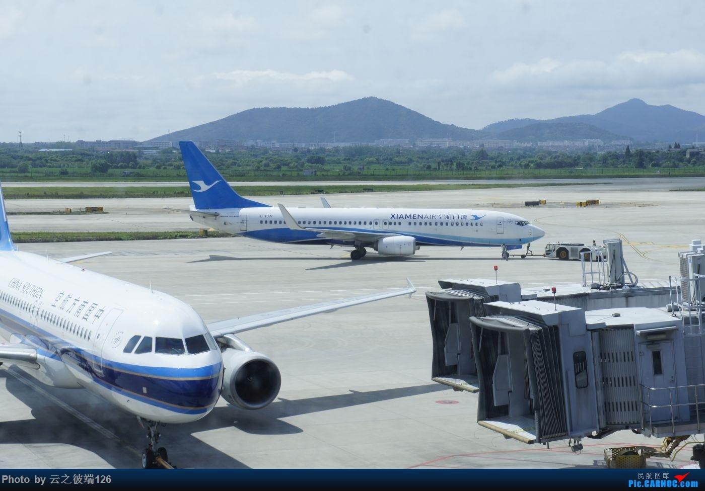 Re:[原创]---步入中原,时隔三年意外遇见你 NKG-XIY-HFE--- BOEING 737-800 B-1971 中国南京禄口国际机场