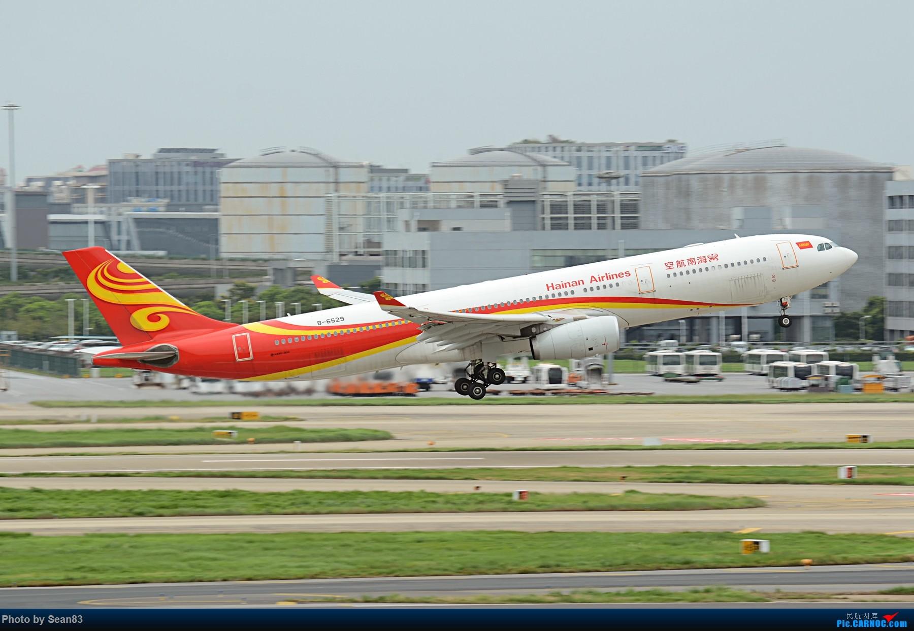 Re:[原创](PVG 1800*)南航757 拉起 AIRBUS A330-300 B-6529 上海虹桥机场