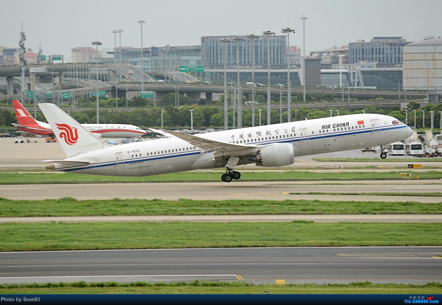 Re:[原创](SHA 1800*)国航新宽体机 两架 BOEING 787-9 B-7879 上海虹桥机场