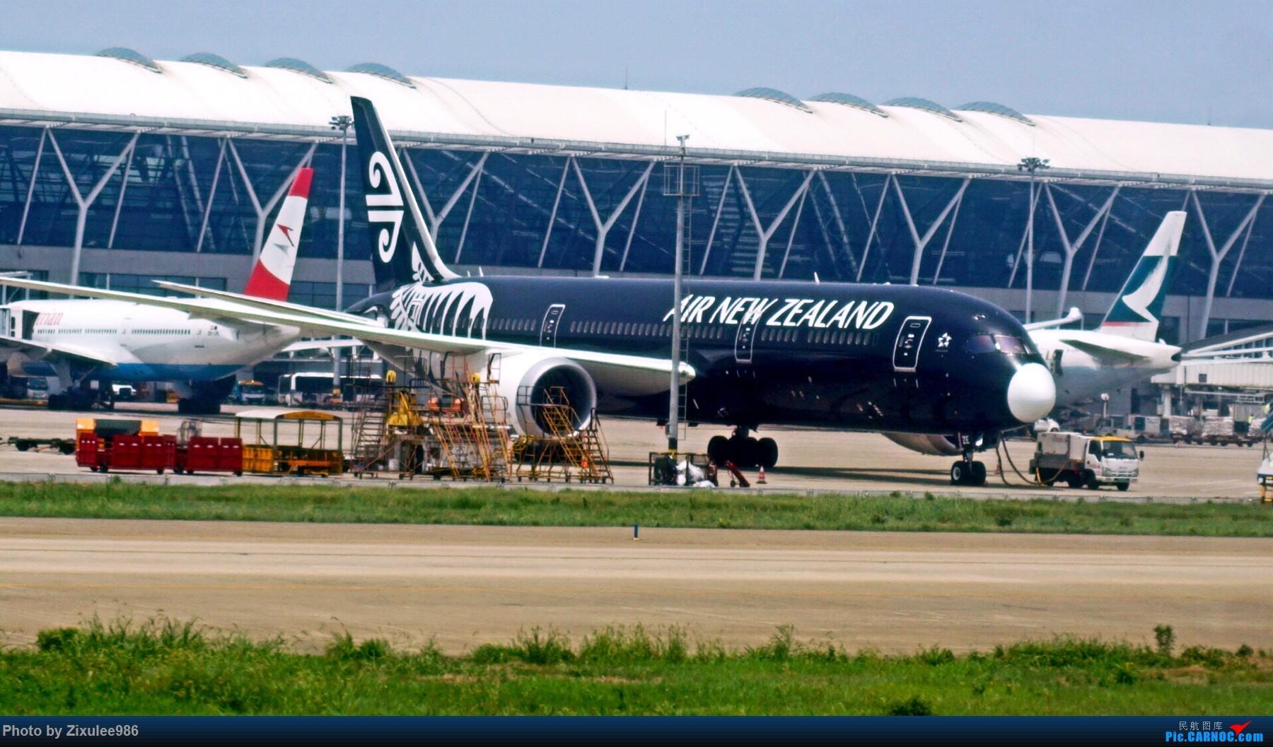 Re:[原创]加拿大21日游学之旅(一)~JJN-PVG-YYZ..(内含flightlog)~第一次发游记~多图缓更请谅解 BOEING 787-9 ZK-NZE 中国上海浦东国际机场