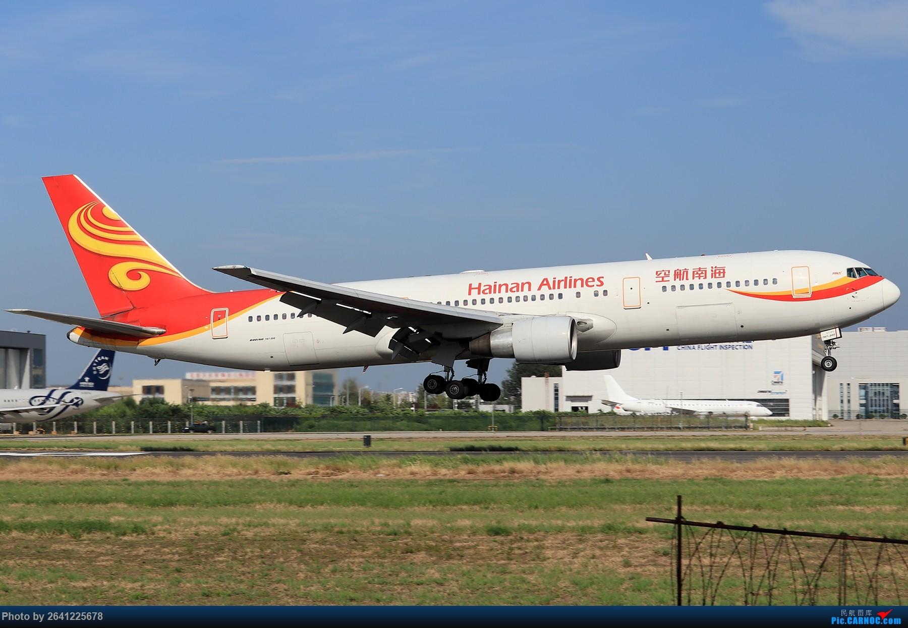 Re:[原创]【PEK】淡蓝色天空下的18R( HNA 篇 ) BOEING 767-300ER B-2490 中国北京首都国际机场