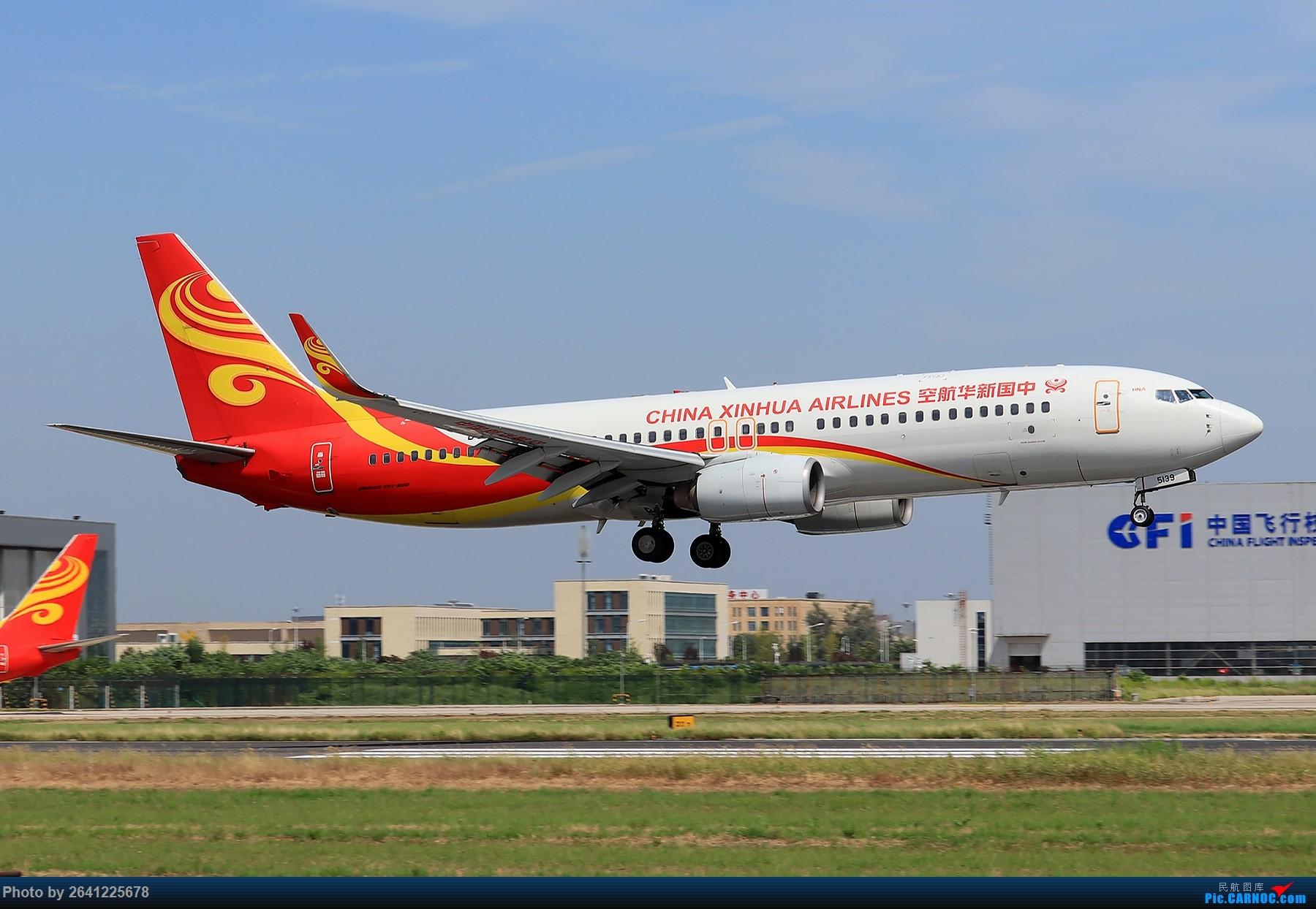Re:[原创]【PEK】淡蓝色天空下的18R( HNA 篇 ) BOEING 737-800 B-5139 中国北京首都国际机场