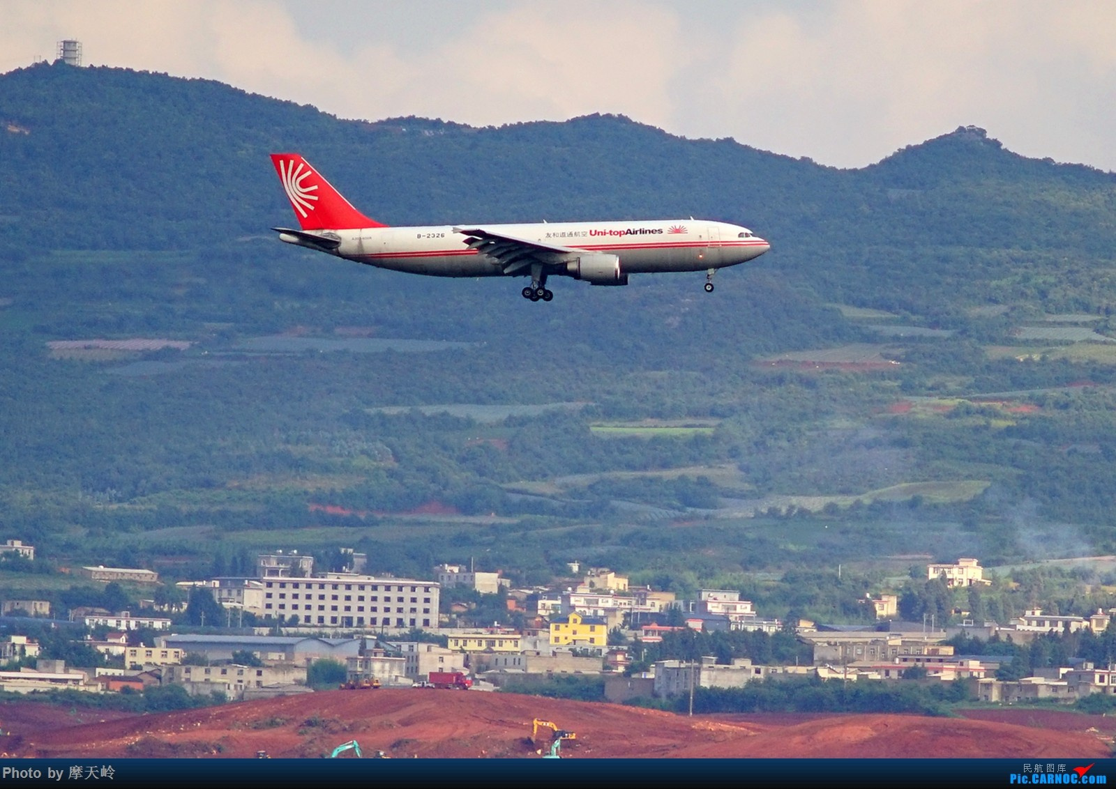 Re:[原创]昆明长水 西跑道头拍机 AIRBUS A300B4-600 B-2326 中国昆明长水国际机场