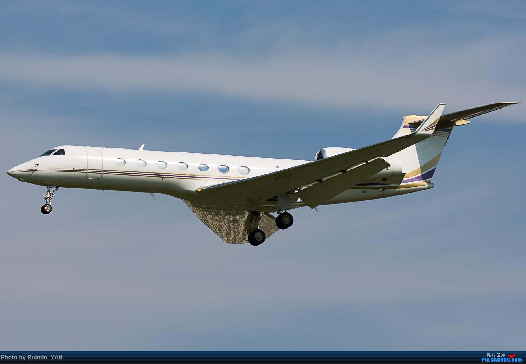 【PEK】【公务机】Emperor Express, Gulfstream Aerospace G200, N88AY GULFSTREAM G200 N88AY 中国北京首都国际机场