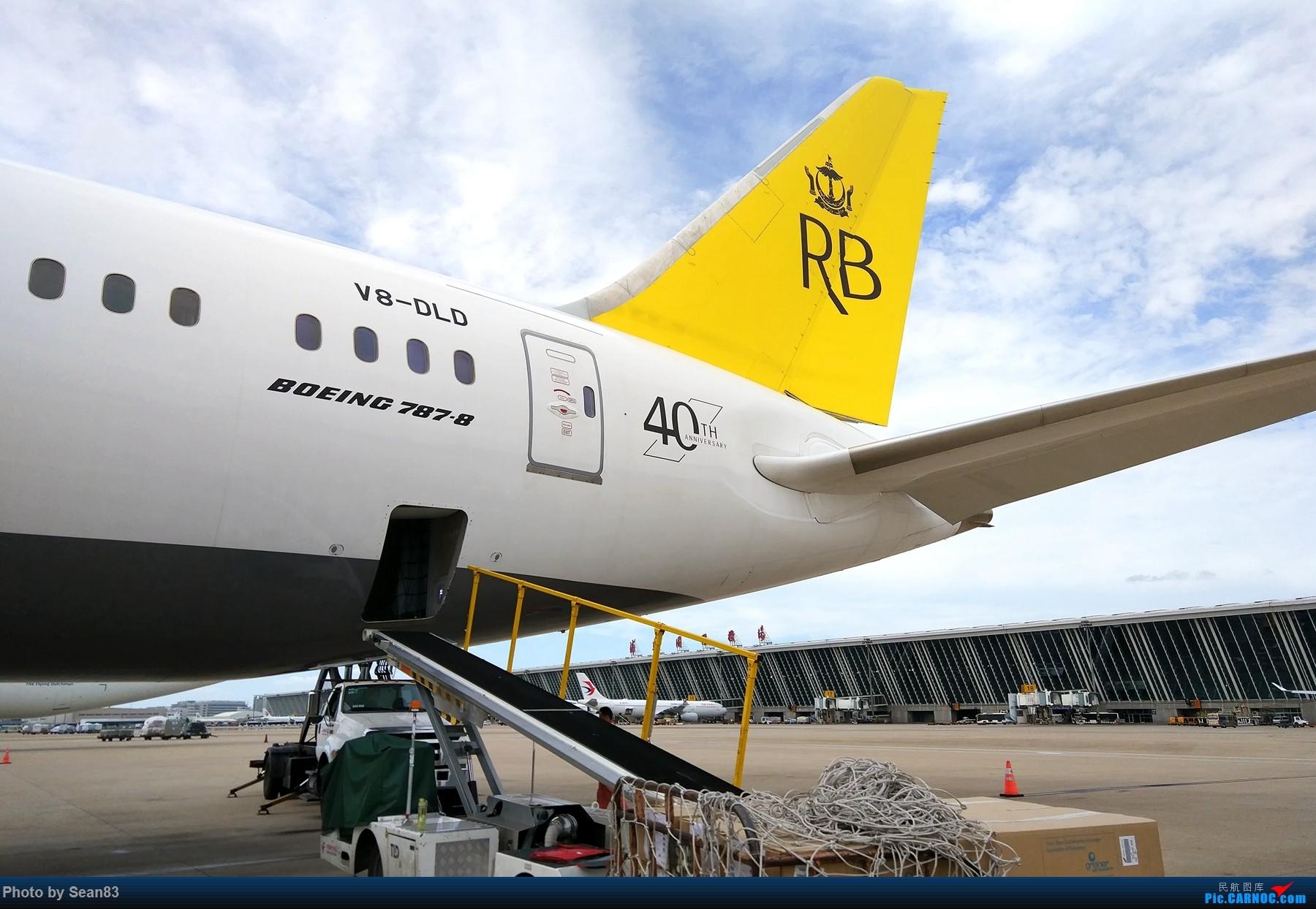 Re:[原创](PVG 1800*)文莱航空B787-8 BOEING 787-8 V8-DLD 上海浦东国际机场