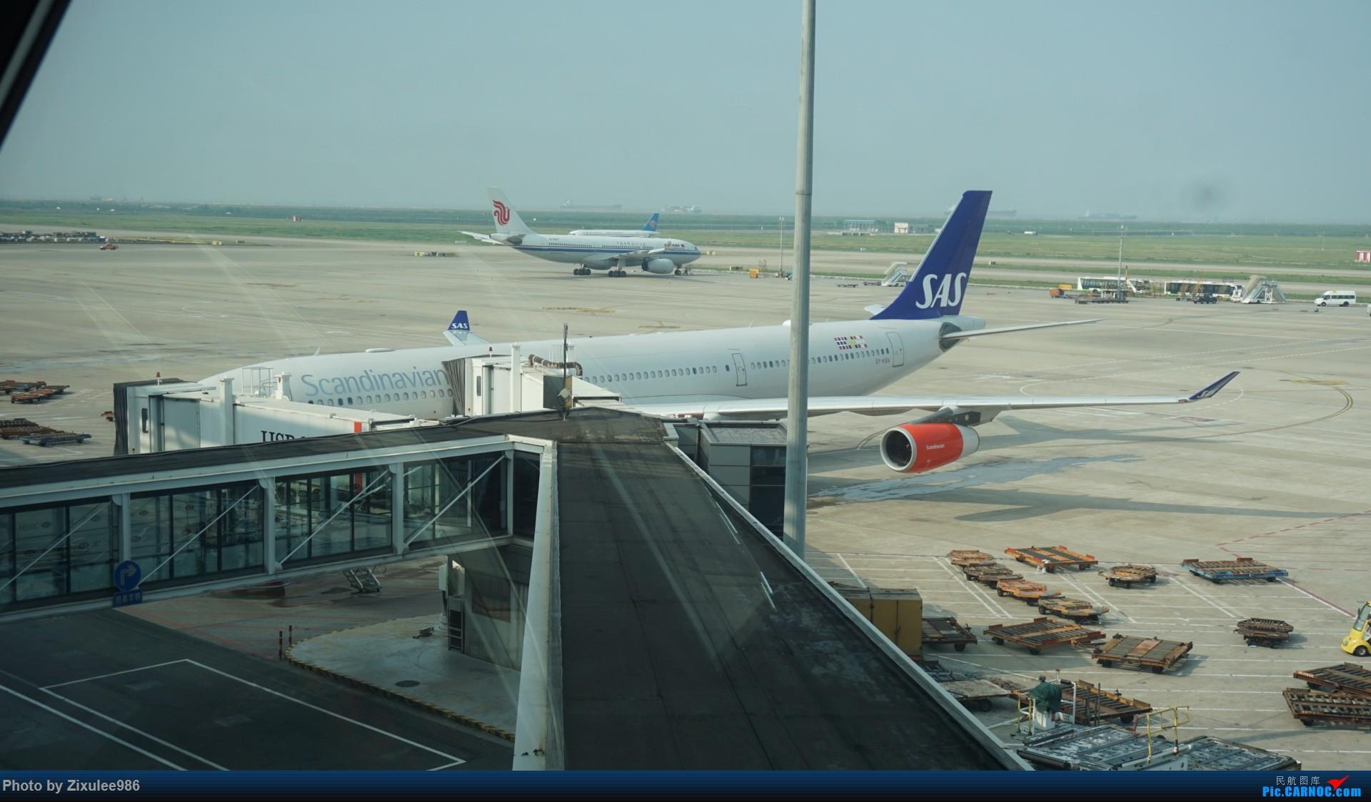 Re:加拿大21日游学之旅(一)~JJN-PVG-YYZ..(内含flightlog)~第一次发游记~多图缓更请谅解 AIRBUS A340-313X OY-KBA 中国上海浦东国际机场