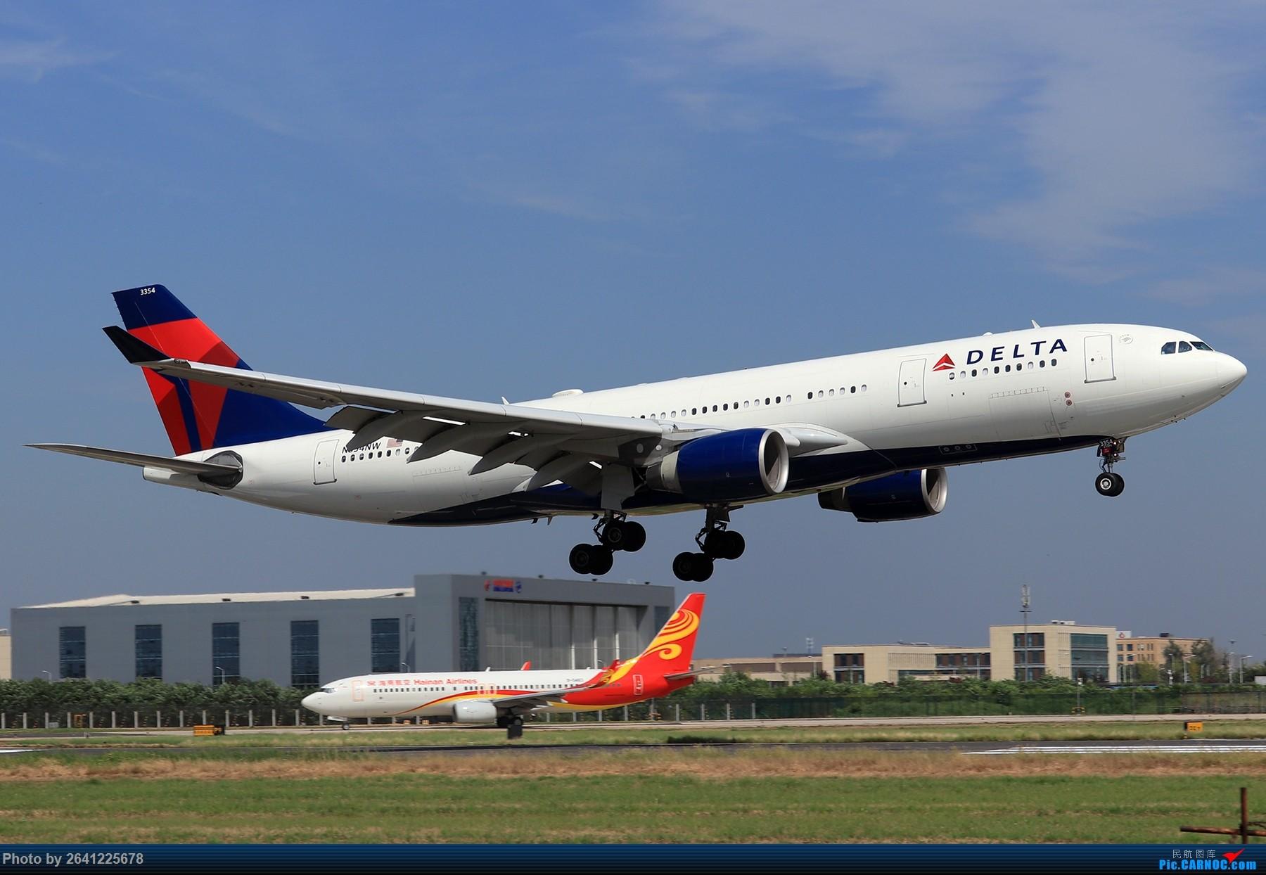 Re:[原创]【PEK】蓝天下的18R(天合联盟篇)法航老涂77W、南航772、东航新737等 AIRBUS A330-200 N854NW 中国北京首都国际机场