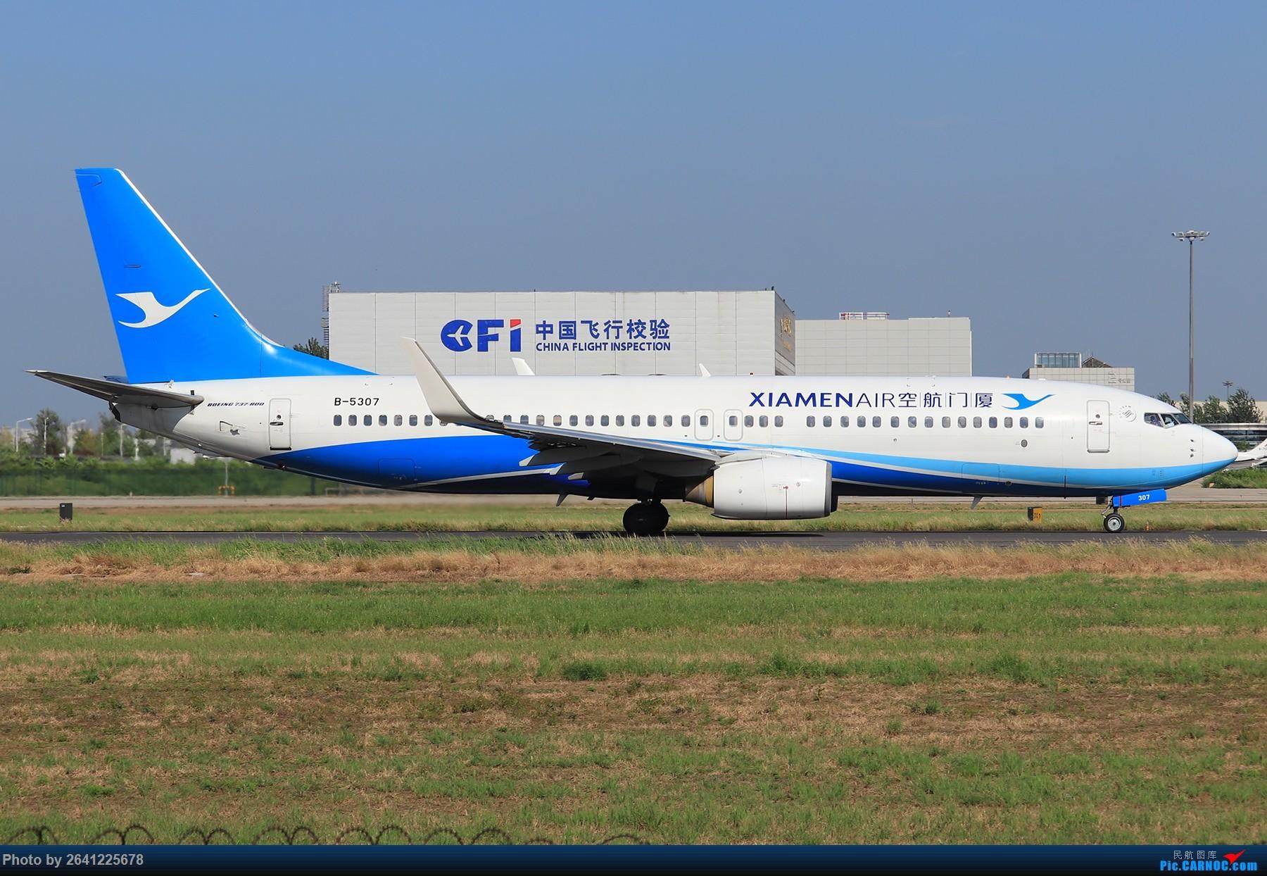 Re:[原创]【PEK】蓝天下的18R(天合联盟篇)法航老涂77W、南航772、东航新737等 BOEING 737-800 B-5307 中国北京首都国际机场