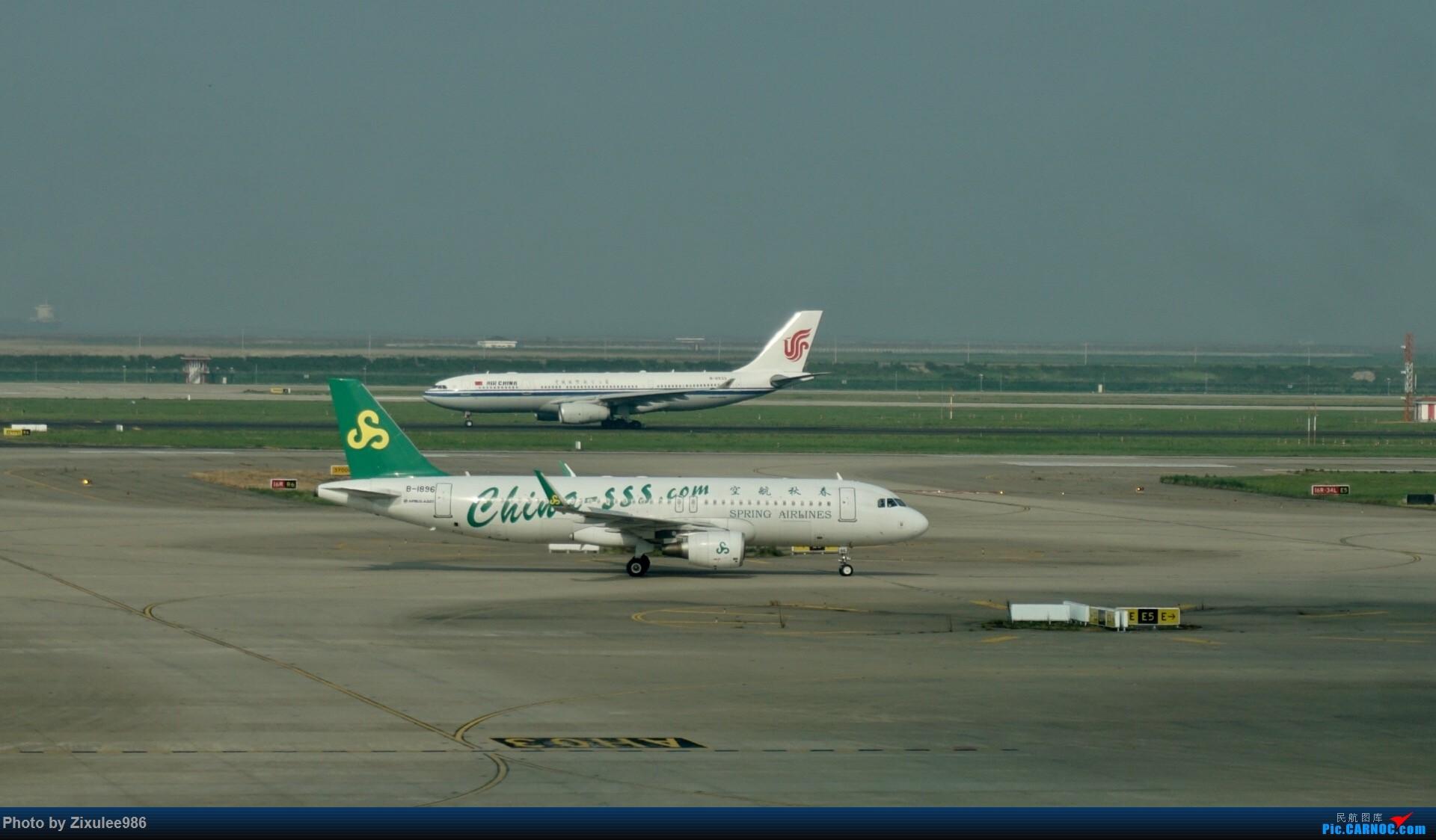 Re:[原创]加拿大21日游学之旅(一)~JJN-PVG-YYZ..(内含flightlog)~第一次发游记~多图缓更请谅解 AIRBUS A320-200 B-1896 中国上海浦东国际机场