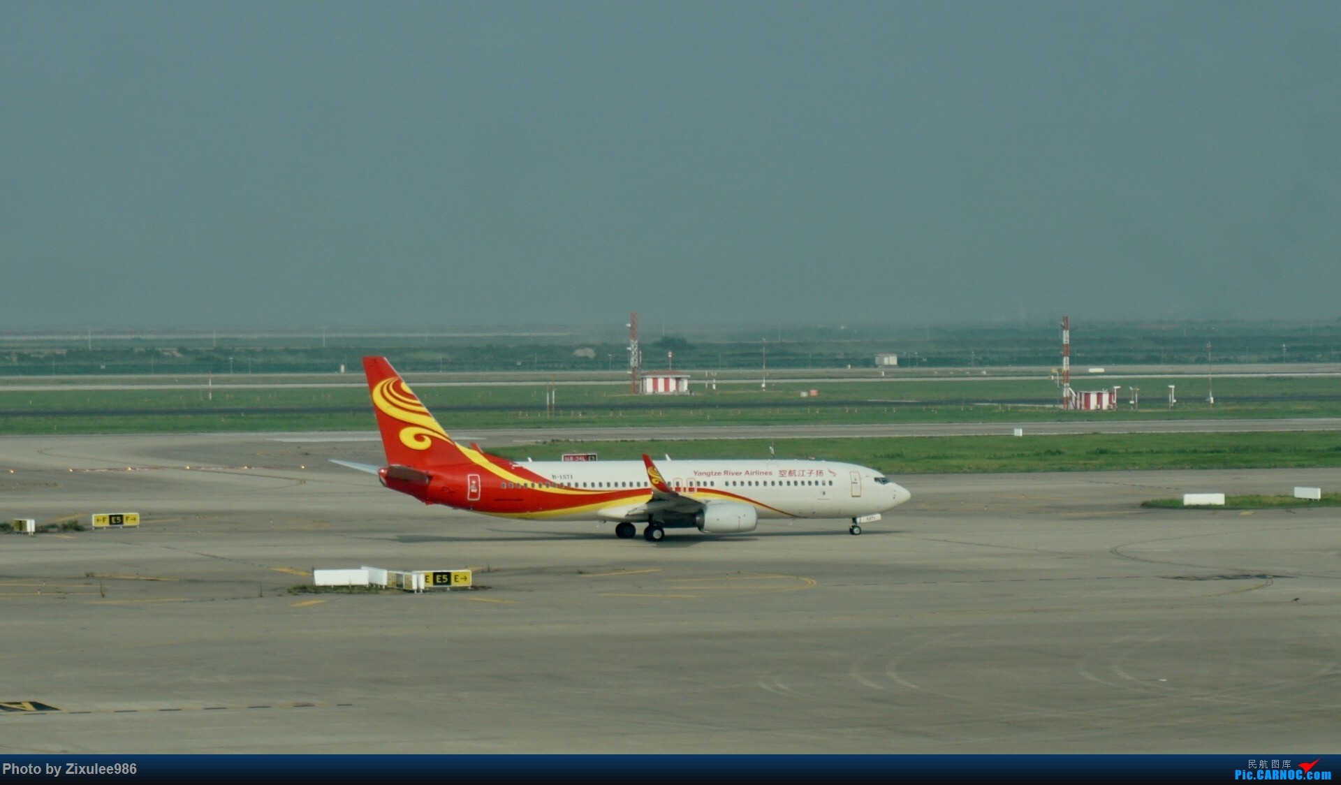 Re:[原创]加拿大21日游学之旅(一)~JJN-PVG-YYZ..(内含flightlog)~第一次发游记~多图缓更请谅解 BOEING 737-800 B-1571 中国上海浦东国际机场
