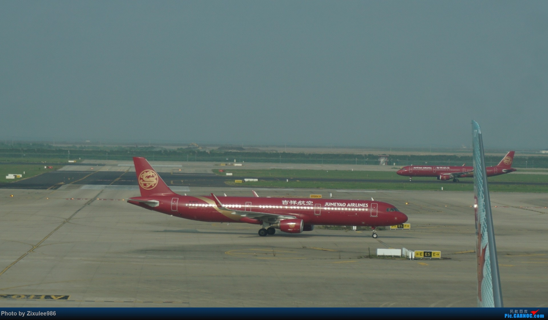 Re:[原创]加拿大21日游学之旅(一)~JJN-PVG-YYZ..(内含flightlog)~第一次发游记~多图缓更请谅解 AIRBUS A321-200 B-1872 中国上海浦东国际机场