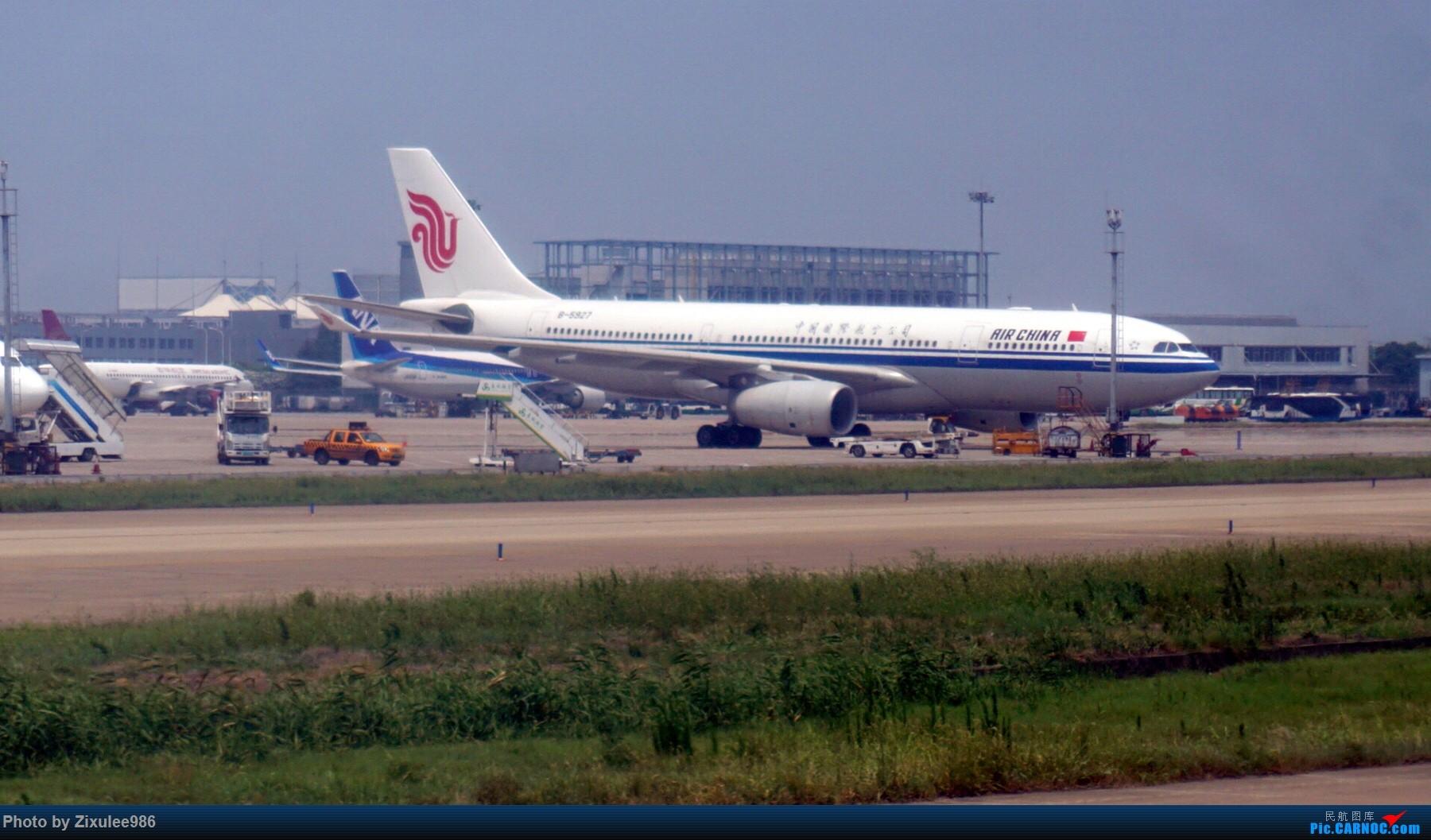 Re:[原创]加拿大21日游学之旅(一)~JJN-PVG-YYZ..(内含flightlog)~第一次发游记~多图缓更请谅解 AIRBUS A330-200 B-5927 中国上海浦东国际机场