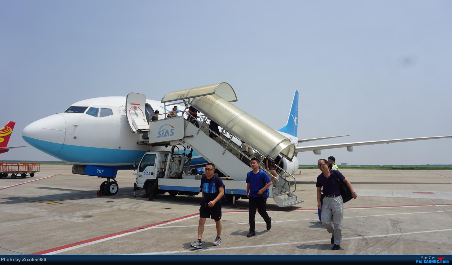 Re:[原创]加拿大21日游学之旅(一)~JJN-PVG-YYZ..(内含flightlog)~第一次发游记~多图缓更请谅解 BOEING 737-85C(WL) B-5707 中国上海浦东国际机场