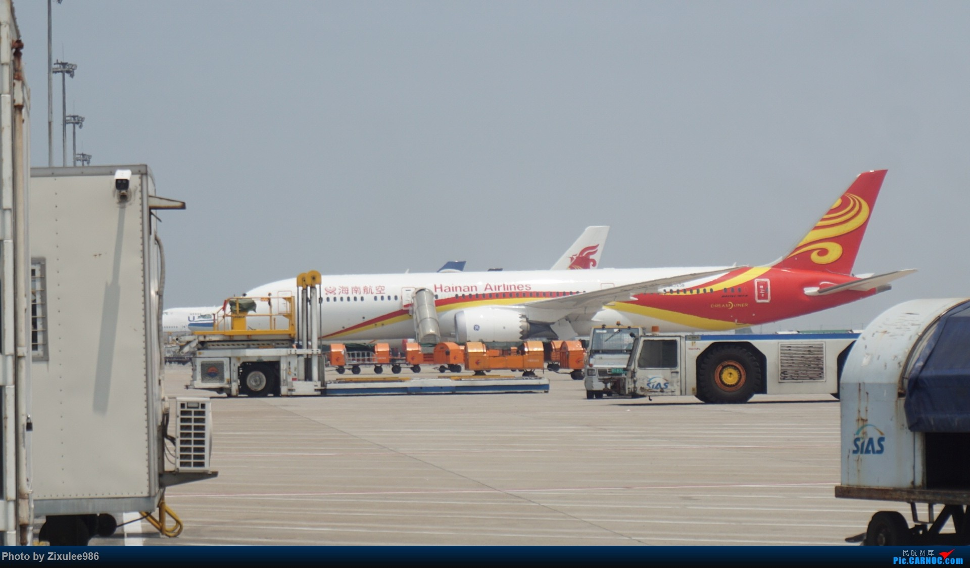 Re:[原创]加拿大21日游学之旅(一)~JJN-PVG-YYZ..(内含flightlog)~第一次发游记~多图缓更请谅解 BOEING 787-9 B-7839 中国上海浦东国际机场