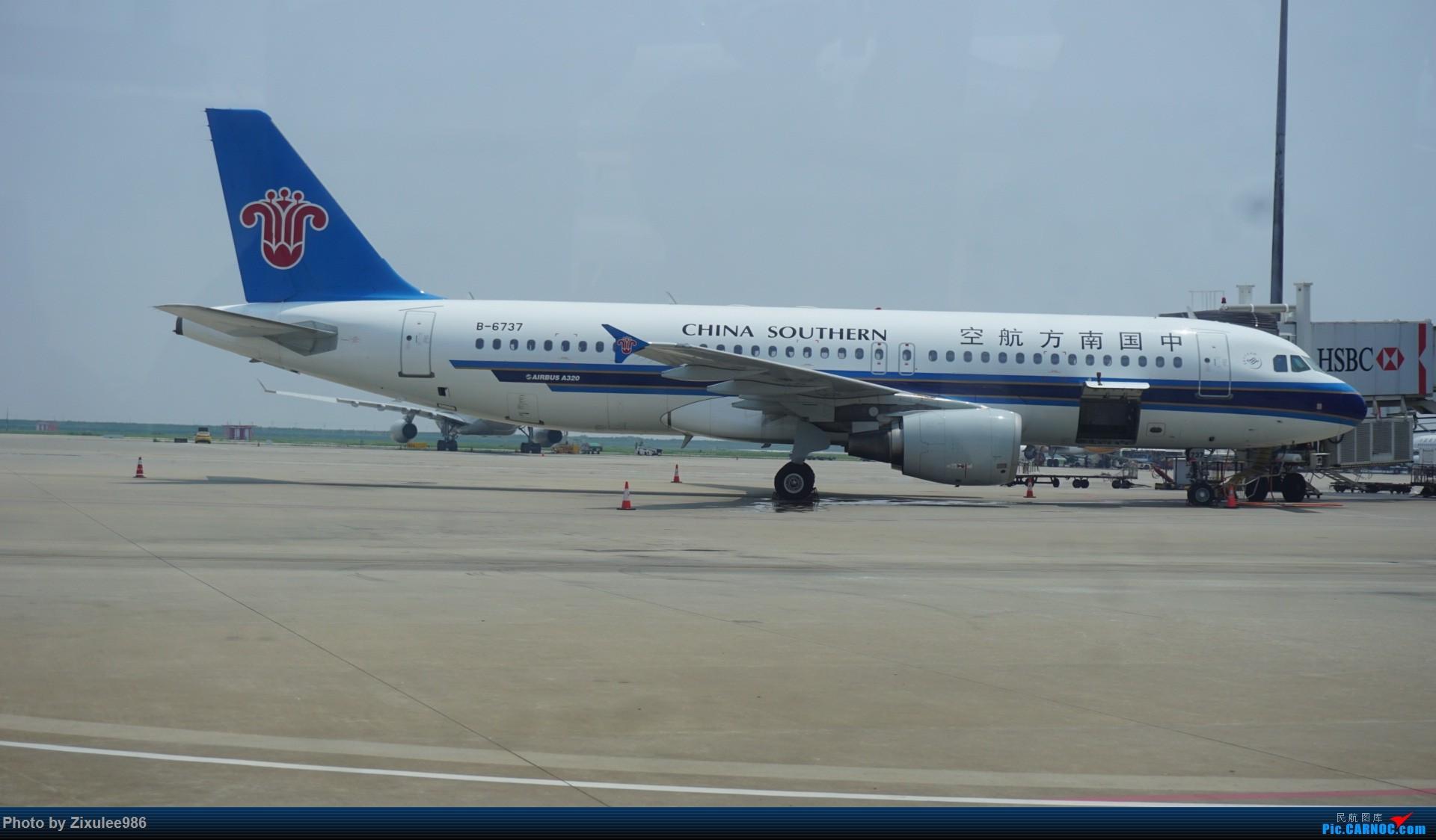 Re:[原创]加拿大21日游学之旅(一)~JJN-PVG-YYZ..(内含flightlog)~第一次发游记~多图缓更请谅解 AIRBUS A320-200 B-6737 中国上海浦东国际机场
