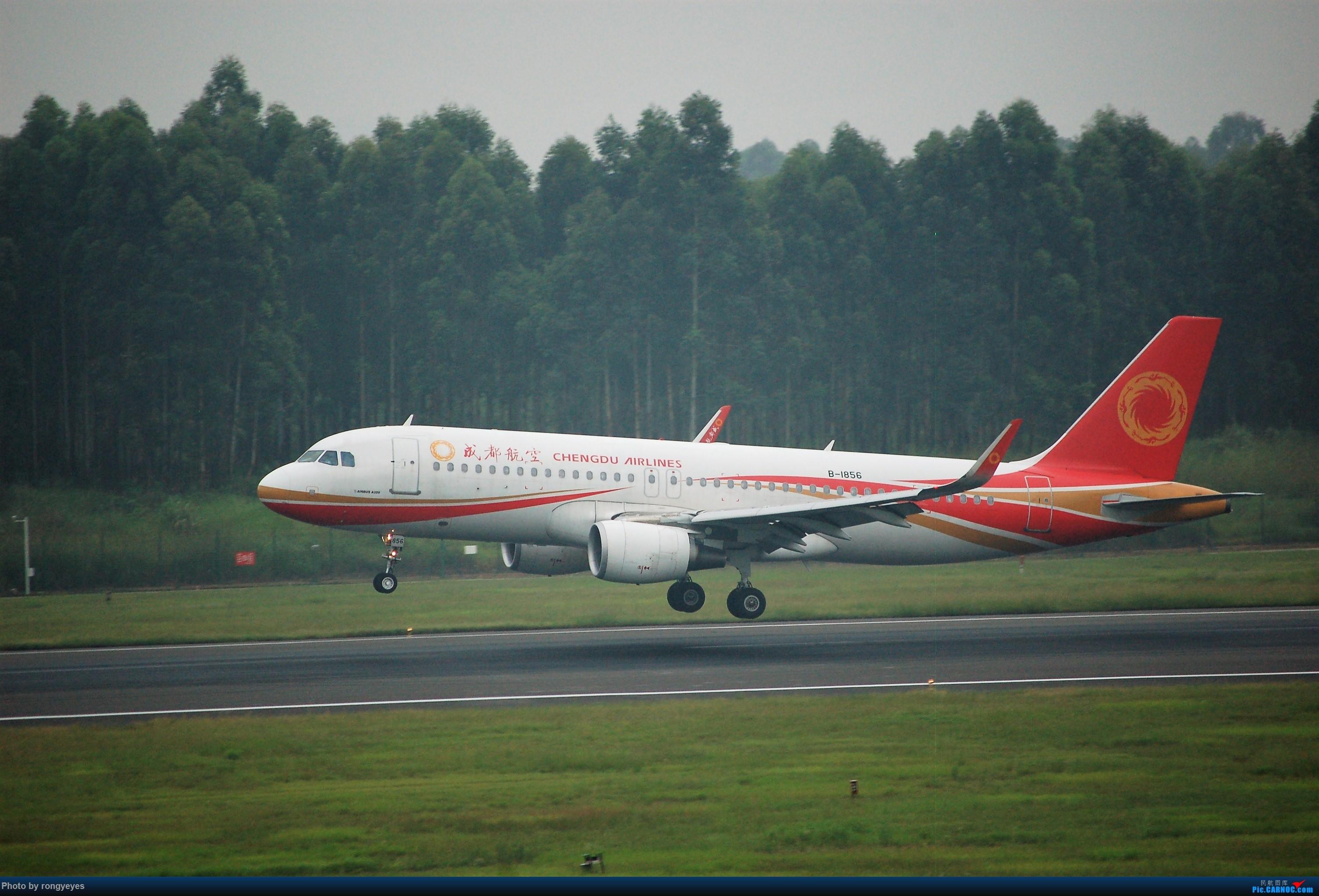 Re:[原创]成都CTU ZUUU 9.1拍机 成卢兹 AIRBUS A320-200 B-1856 中国成都双流国际机场