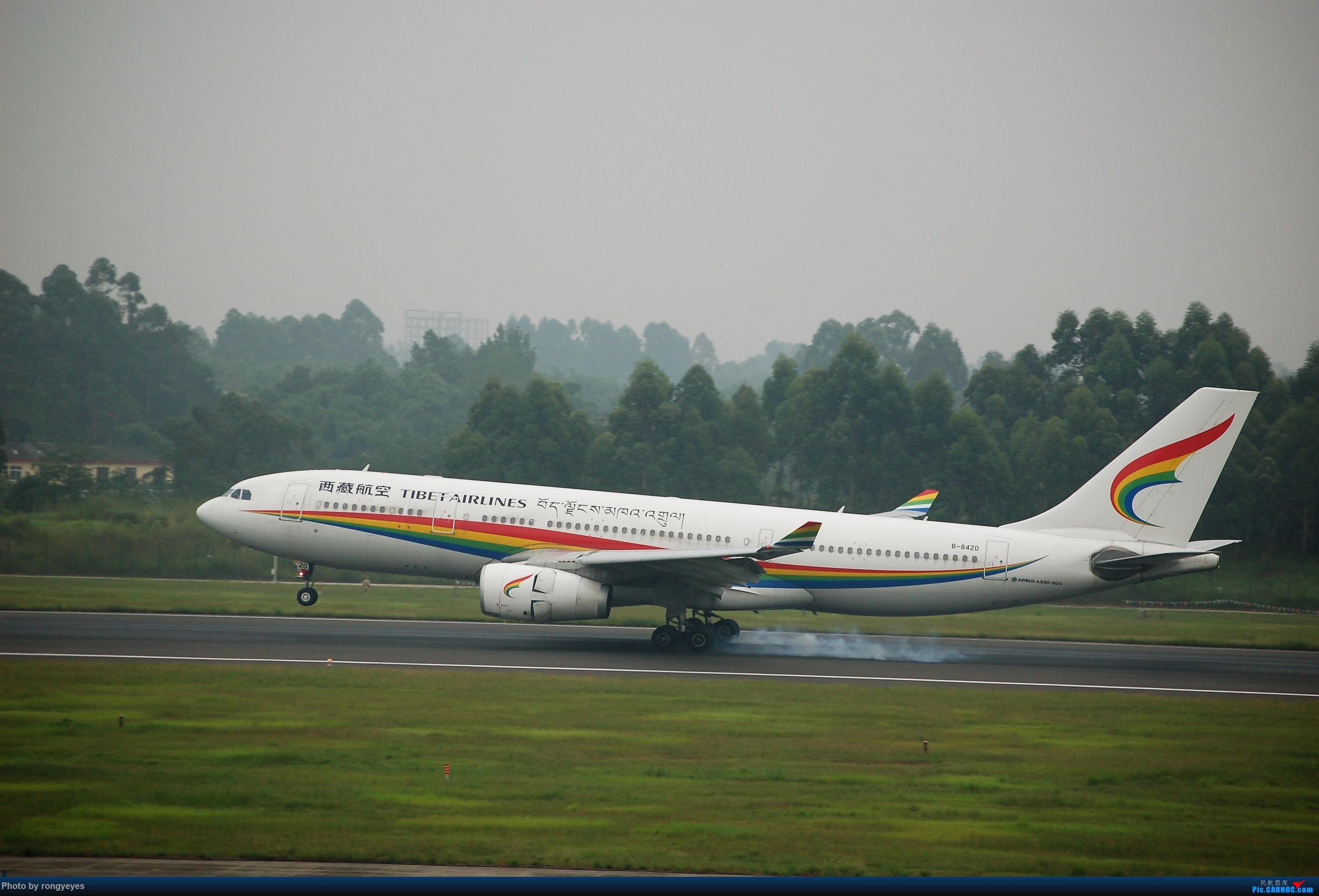 Re:[原创]成都CTU ZUUU 9.1拍机 成卢兹 AIRBUS A330-200 B-8420 中国成都双流国际机场