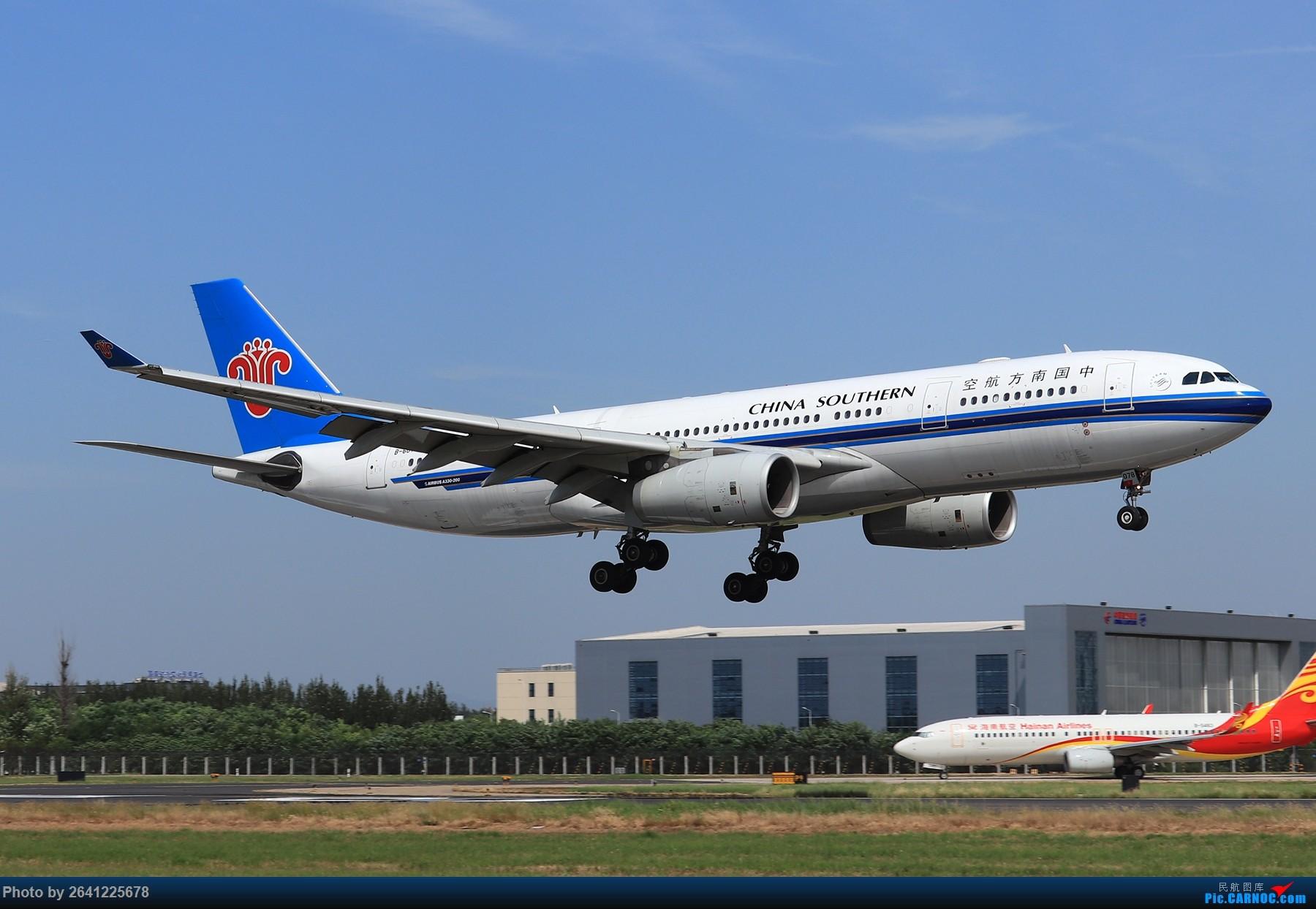 Re:[原创]【PEK】蓝天下的18R(天合联盟篇)法航老涂77W、南航772、东航新737等 AIRBUS A330-200 B-6078 中国北京首都国际机场