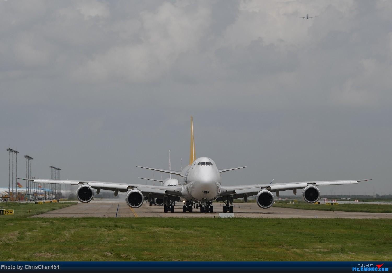 [原创]【PVG】浦东机场747一组 BOEING 747-8I N858GT 中国上海浦东国际机场