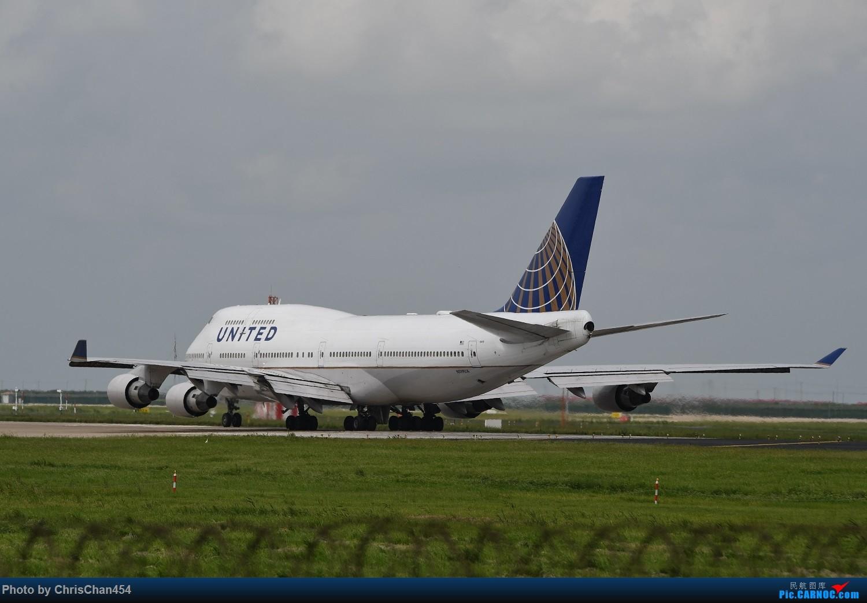 Re:[原创]【PVG】浦东机场747一组 BOEING 747-400 N119UA 中国上海浦东国际机场