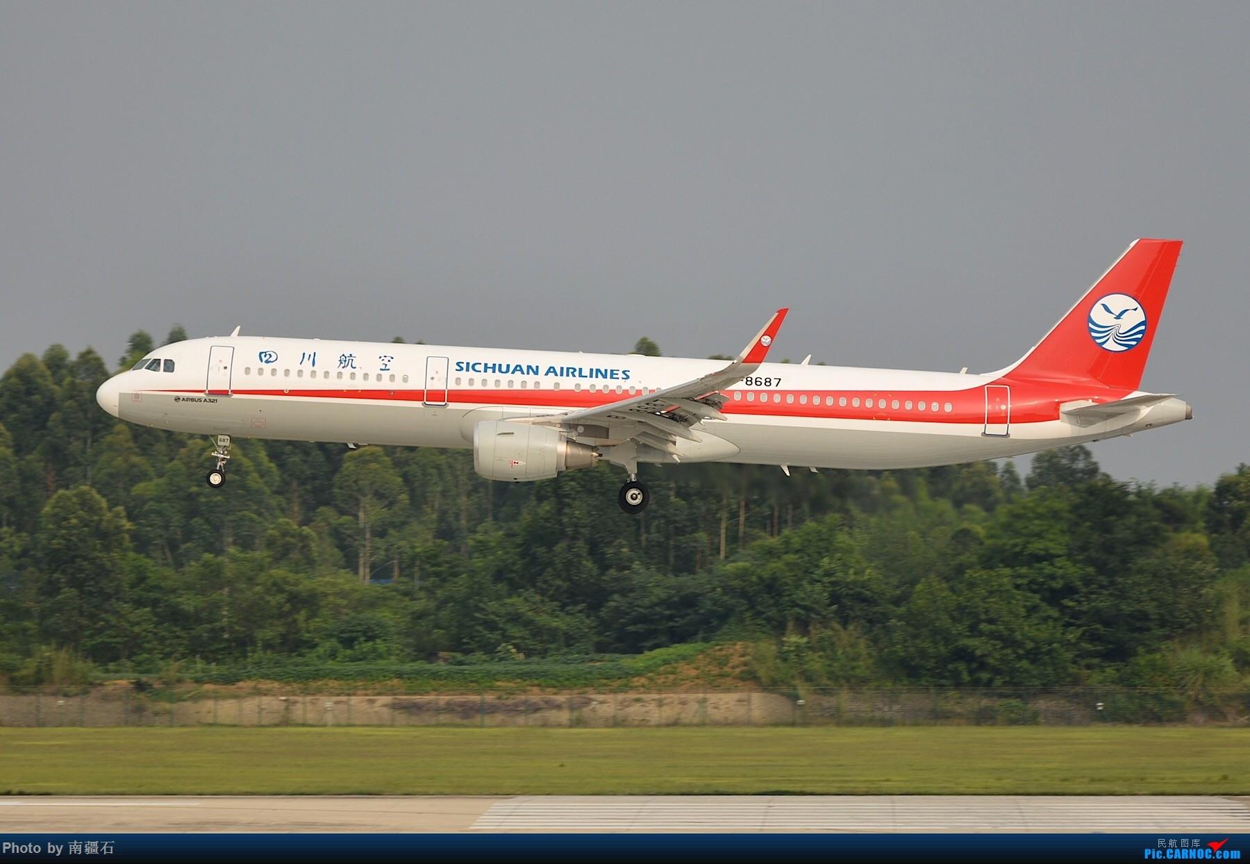 Re:[原创]CTU 川农的主场当然不能没有漂亮的川妹子 AIRBUS A321-200 B-8687 中国成都双流国际机场