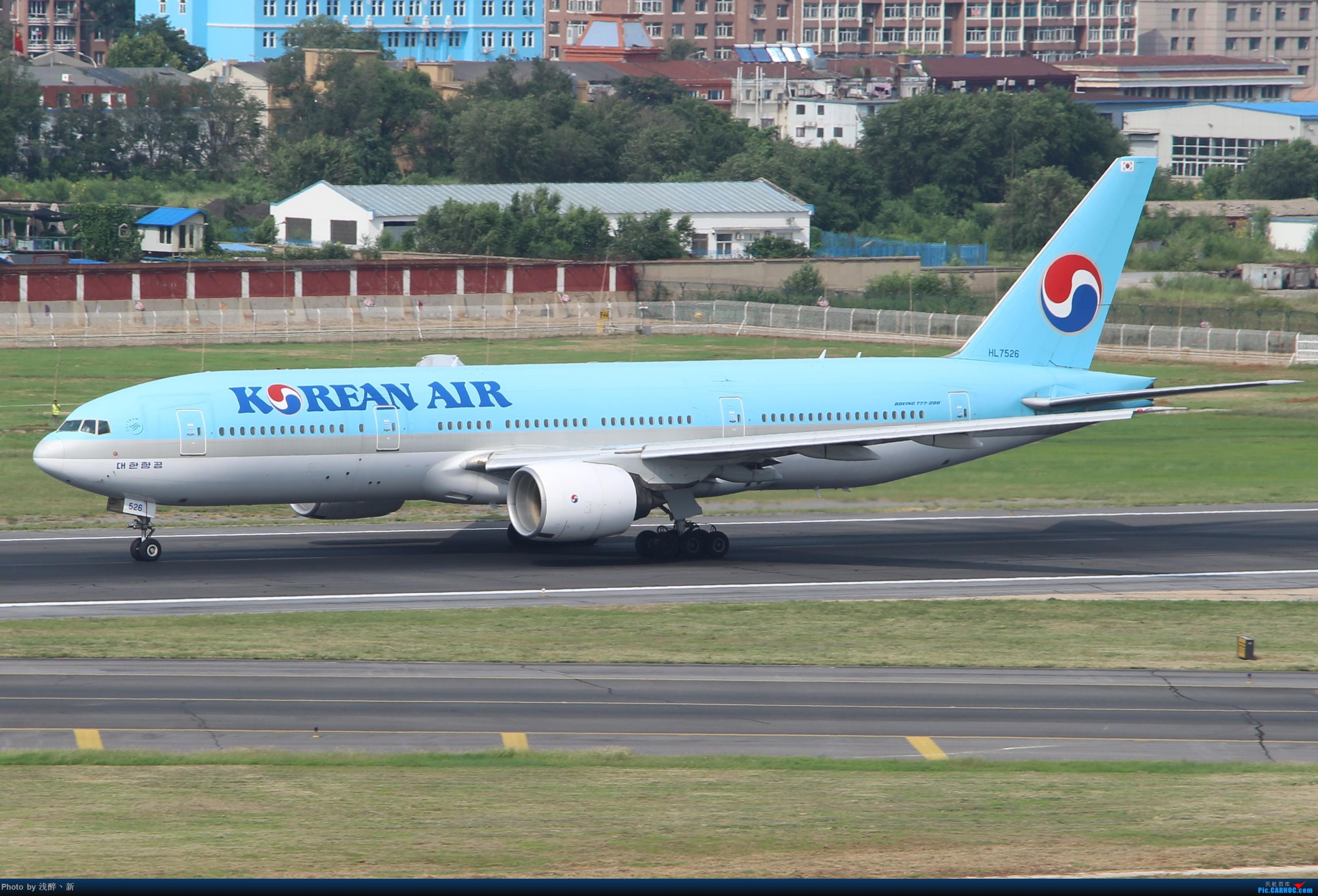Re:[原创]DLC 2017.9.5 BOEING 777-200 HL7526 中国大连国际机场