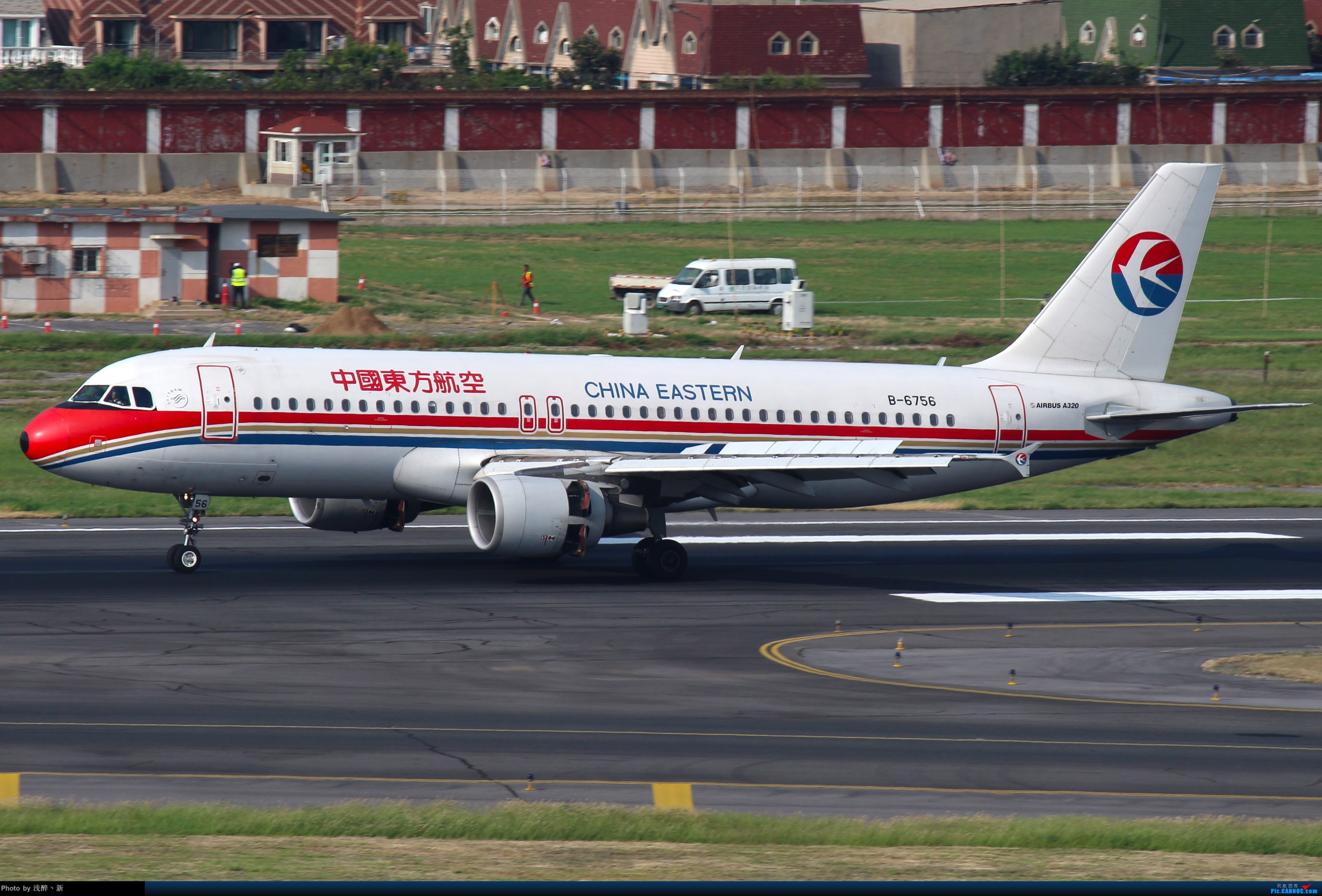 Re:[原创]DLC 2017.9.5 AIRBUS A320-200 B-6756 中国大连国际机场
