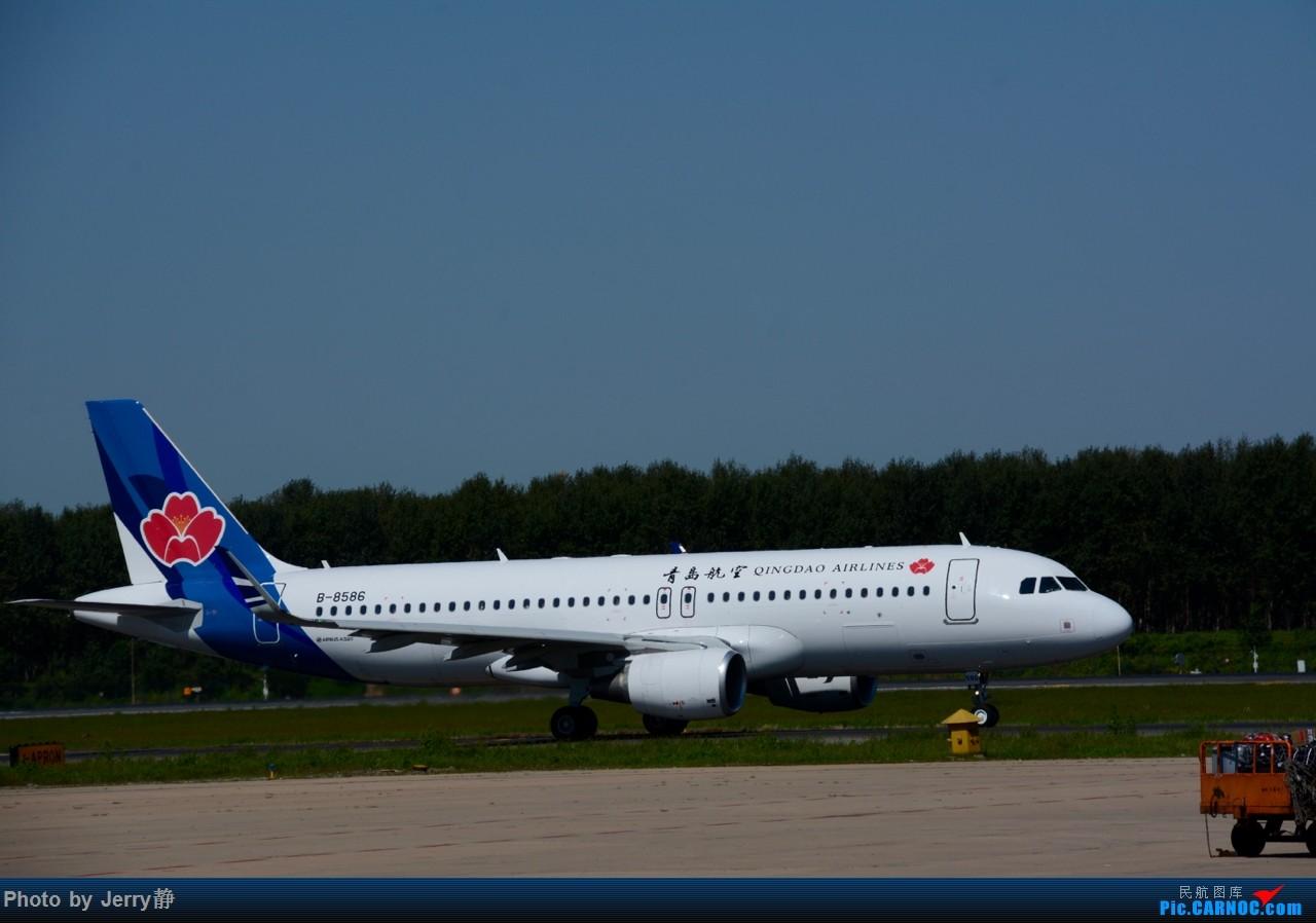 Re:[原创][SHE]八月底沈阳桃仙国际机场拍机,万里无云的天气 AIRBUS A320-200 B-8586