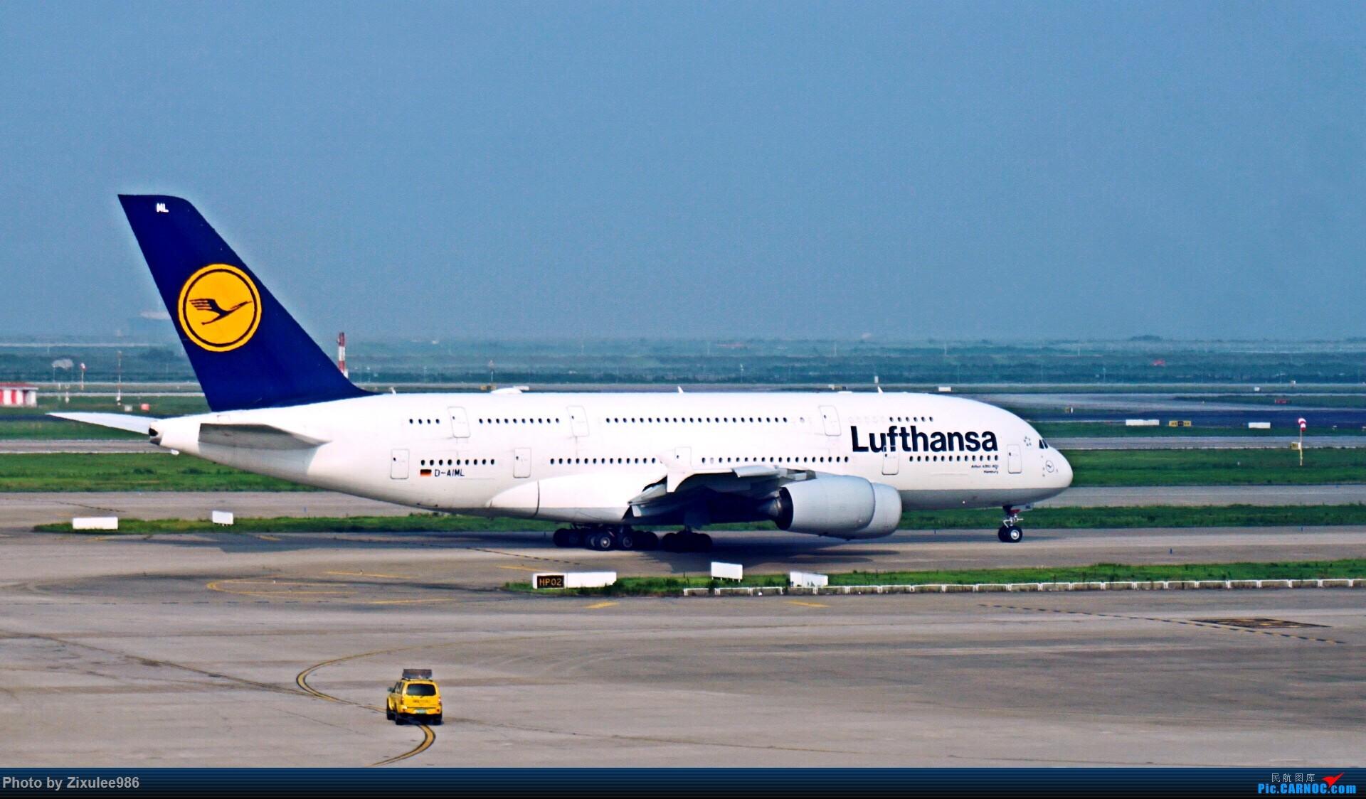 Re:[原创]加拿大21日游学之旅(一)~JJN-PVG-YYZ..(内含flightlog)~第一次发游记~多图缓更请谅解 AIRBUS A380-800 D-AIML 中国上海浦东国际机场