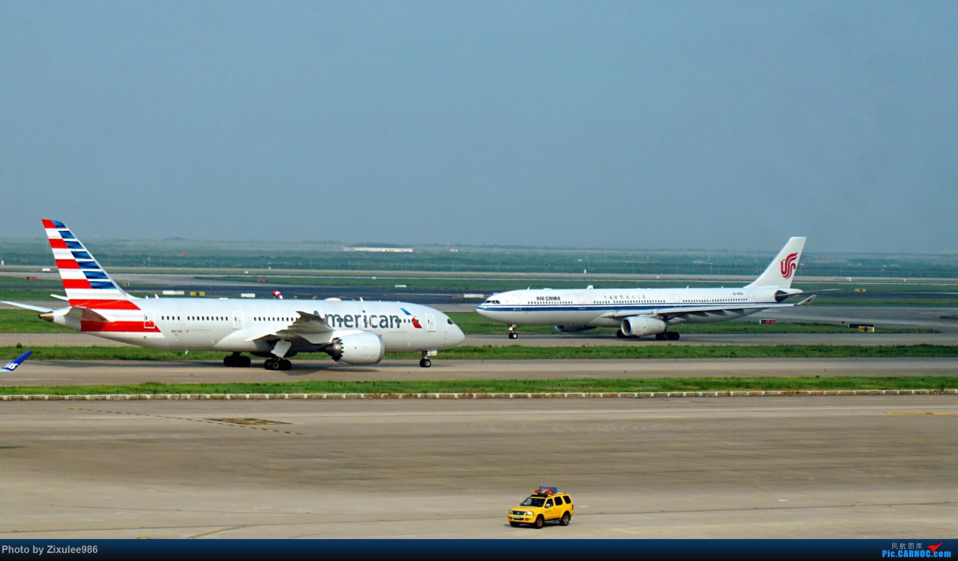 Re:[原创]加拿大21日游学之旅(一)~JJN-PVG-YYZ..(内含flightlog)~第一次发游记~多图缓更请谅解 BOEING 787-8 N817AN 中国上海浦东国际机场