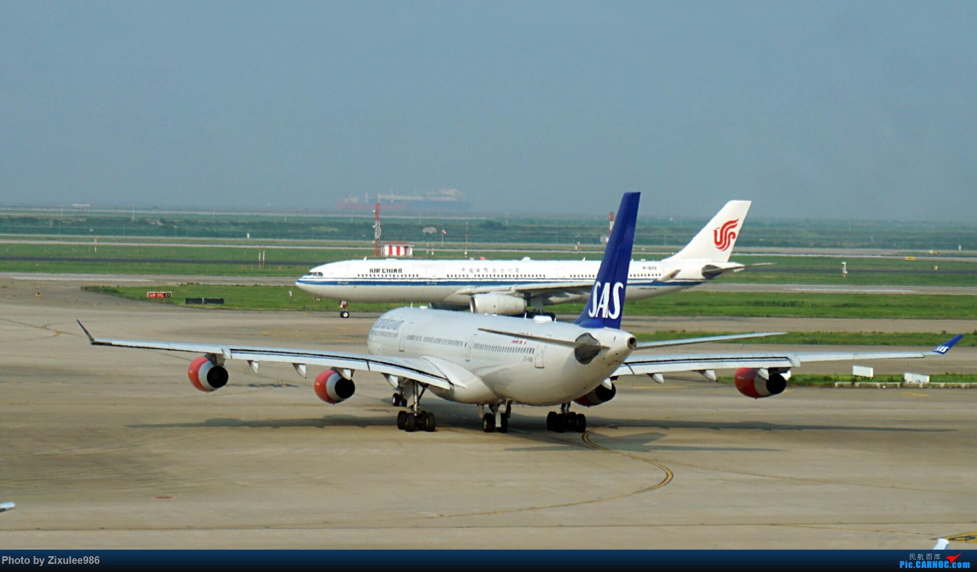 Re:[原创]加拿大21日游学之旅(一)~JJN-PVG-YYZ..(内含flightlog)~第一次发游记~多图缓更请谅解 AIRBUS A340-313X OY-KBA 中国上海浦东国际机场
