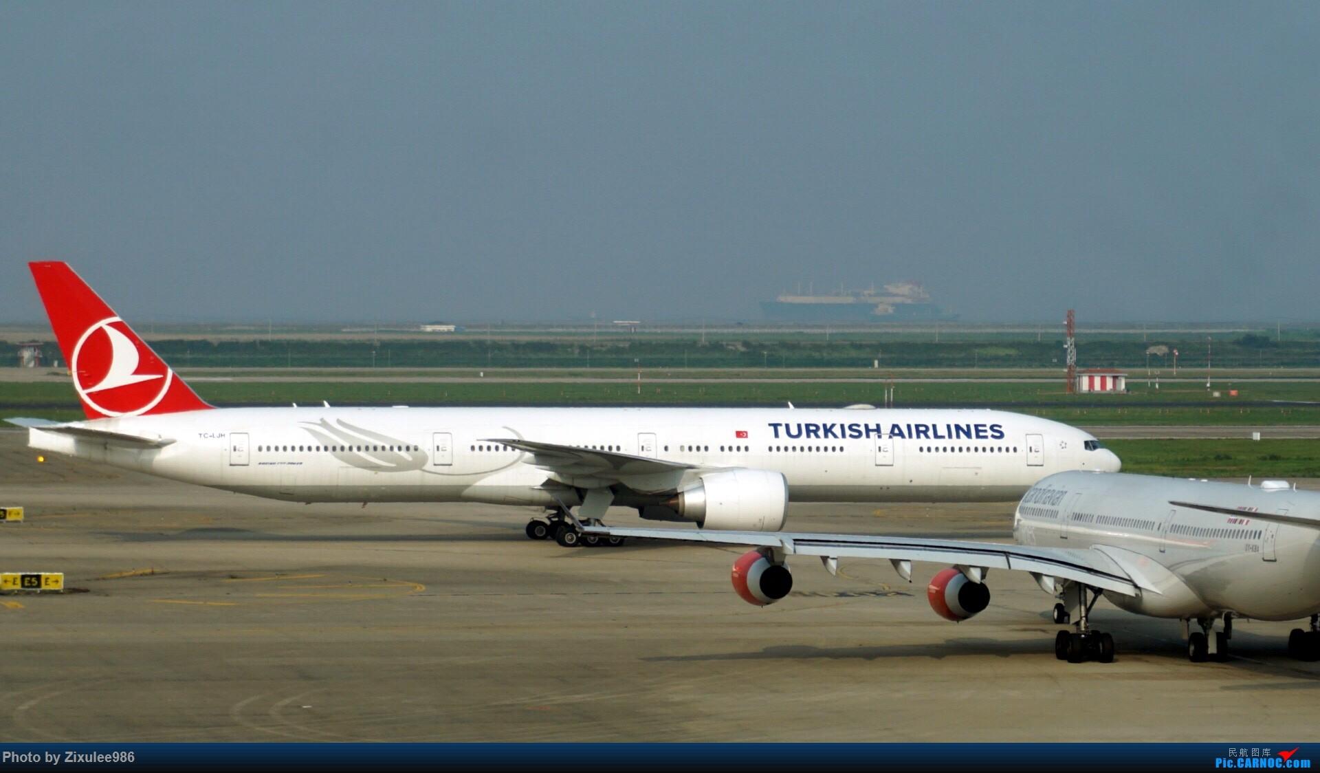 Re:[原创]加拿大21日游学之旅(一)~JJN-PVG-YYZ..(内含flightlog)~第一次发游记~多图缓更请谅解 BOEING 777-300ER TC-JJH 中国上海浦东国际机场