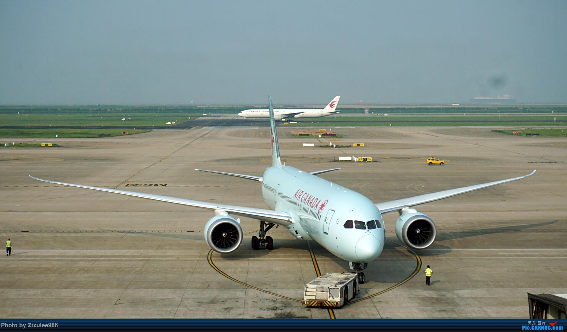 Re:[原创]加拿大21日游学之旅(一)~JJN-PVG-YYZ..(内含flightlog)~第一次发游记~多图缓更请谅解 BOEING 787-9 C-FGDZ 中国上海浦东国际机场