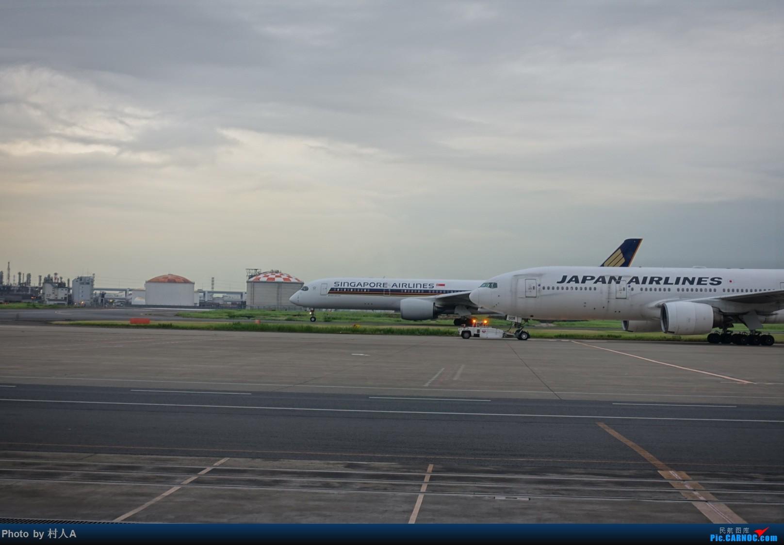Re:[原创]新航359和日航777 AIRBUS A350-900 9V-SMD 日本东京羽田国际机场