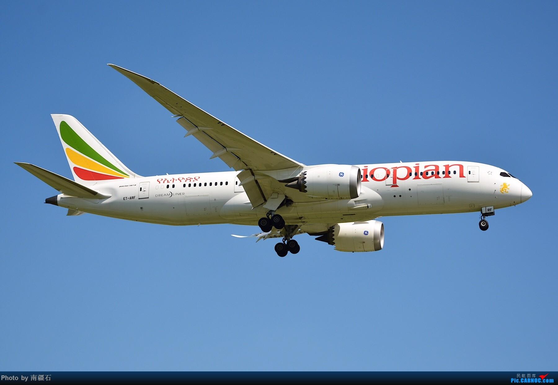 [原创]CTU 9.6 20R降落精选几张 BOEING 787-8 ET-ARF 中国成都双流国际机场