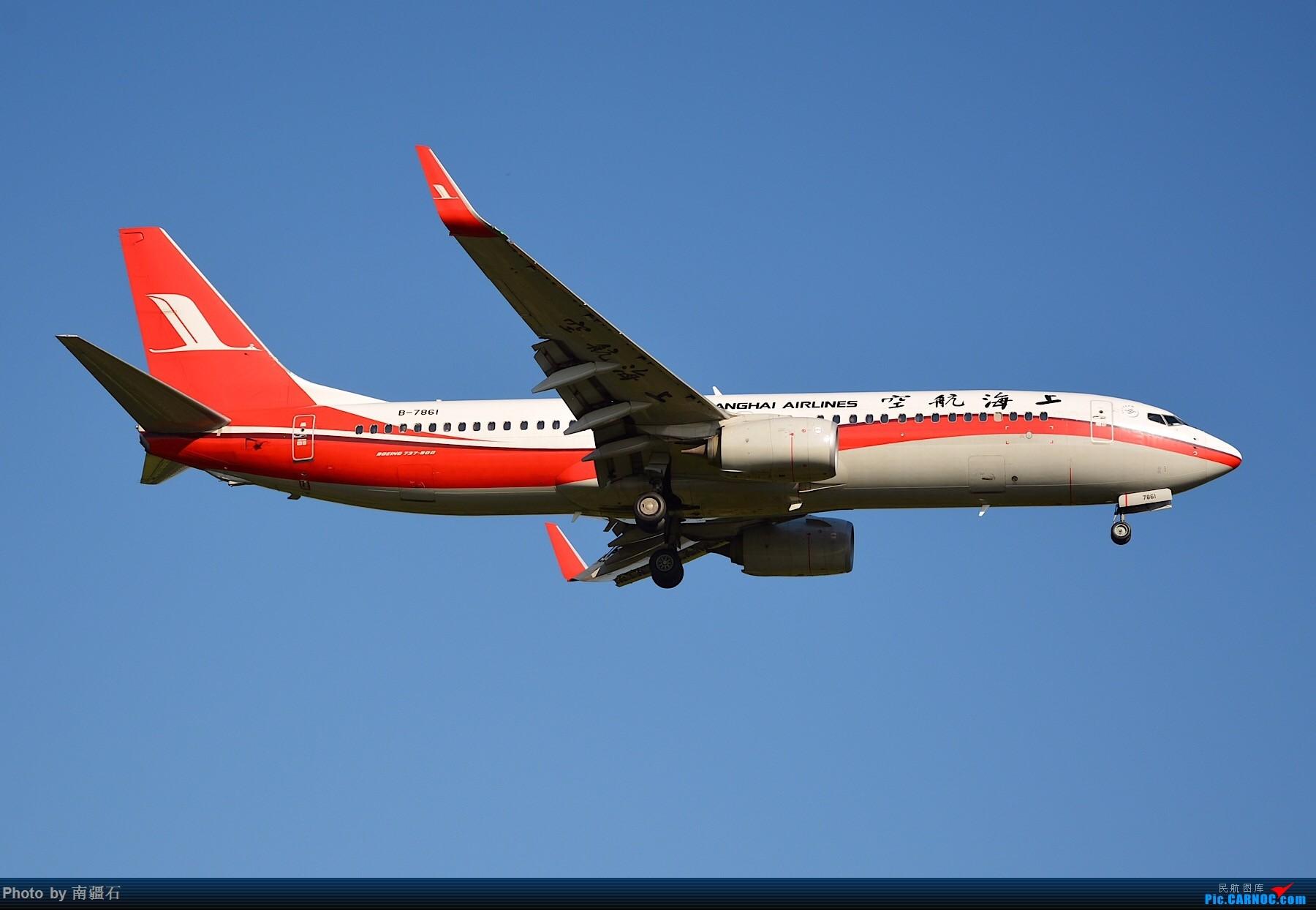 Re:[原创]CTU 9.6 20R降落精选几张 BOEING 737-800 B-7861 中国成都双流国际机场