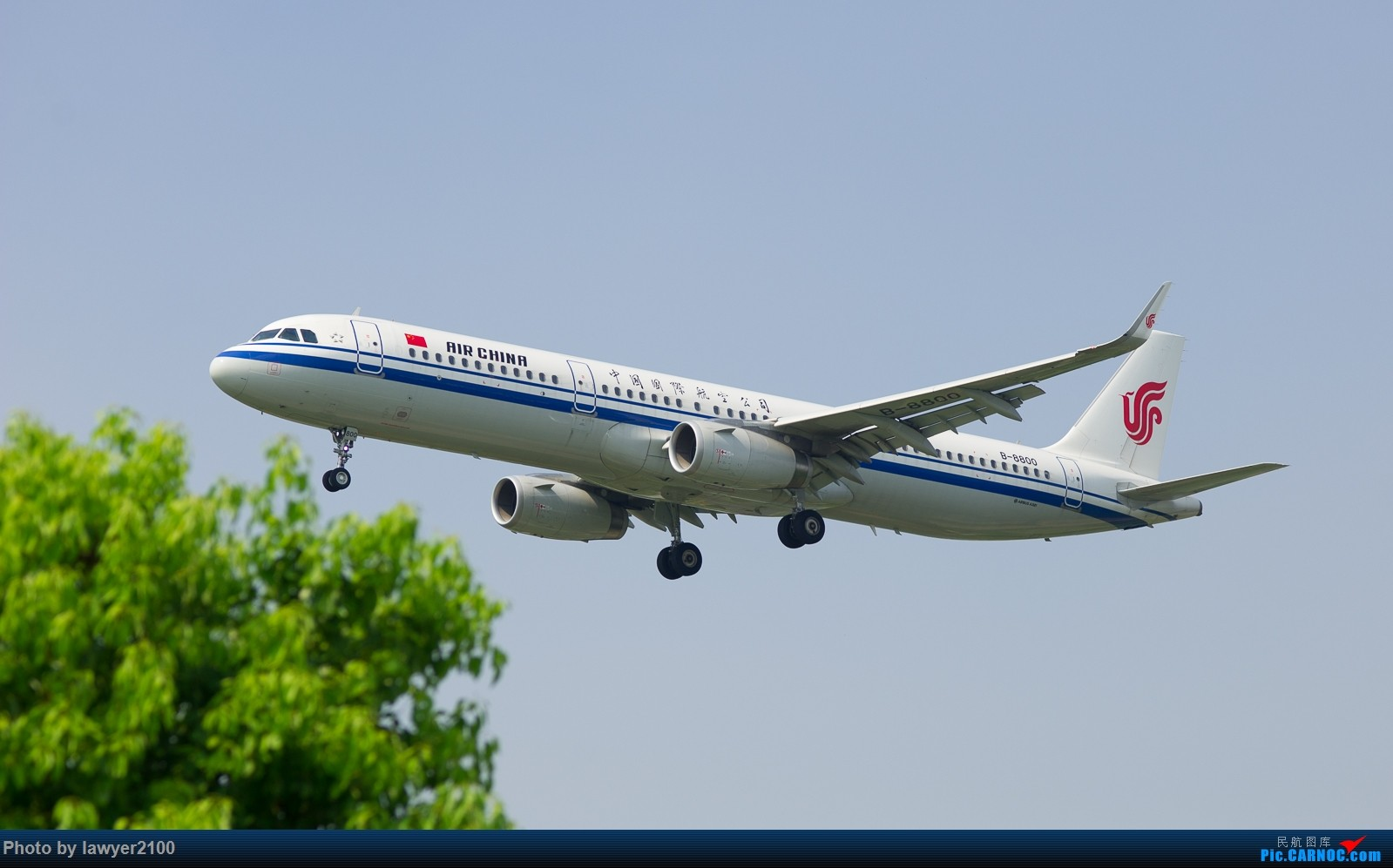 [原创]HGH蔡司百威首射,CA-A321 AIRBUS A321-200 B-8800 中国杭州萧山国际机场