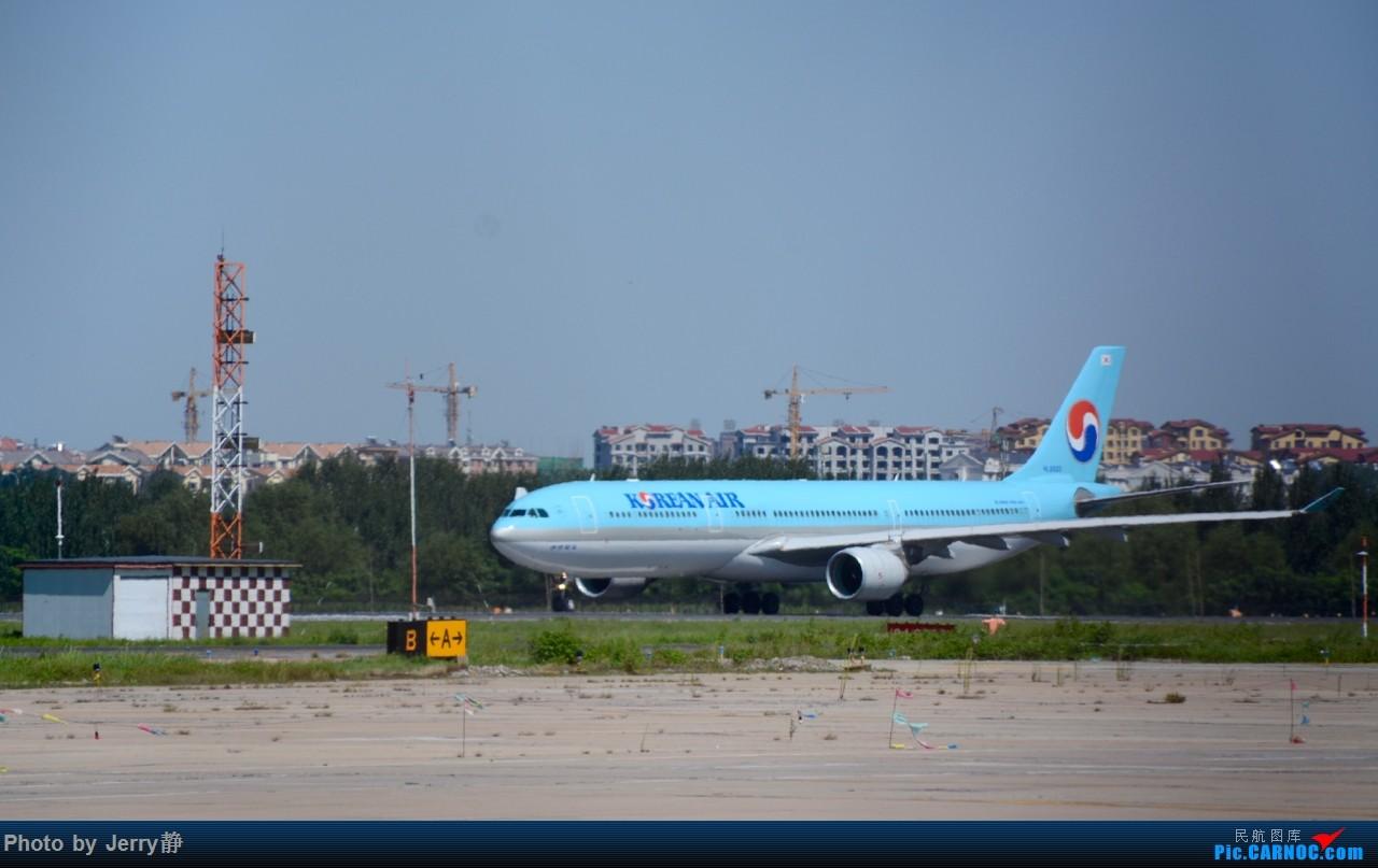 Re:[原创][SHE]八月底沈阳桃仙国际机场拍机,万里无云的天气 AIRBUS A330 HL-8003 沈阳桃仙国际机场