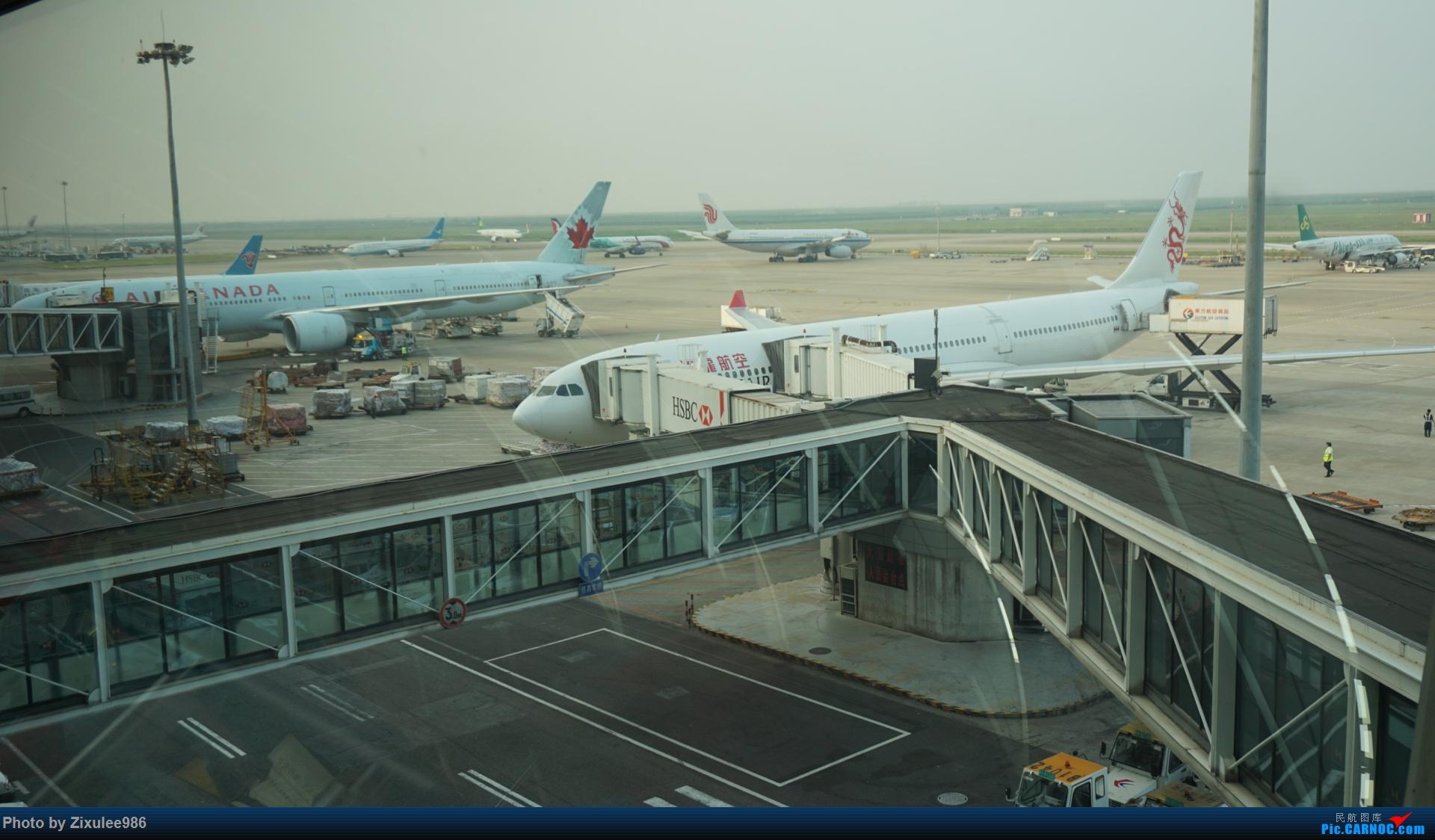 [原创]加拿大21日游学之旅 (二)~加航AC28..PVG-YYZ 首次跨洋,到达多村后的雨天(附上上一集忘发的flightlog) BOEING 777-333 (ER) C-FITL 中国上海浦东国际机场