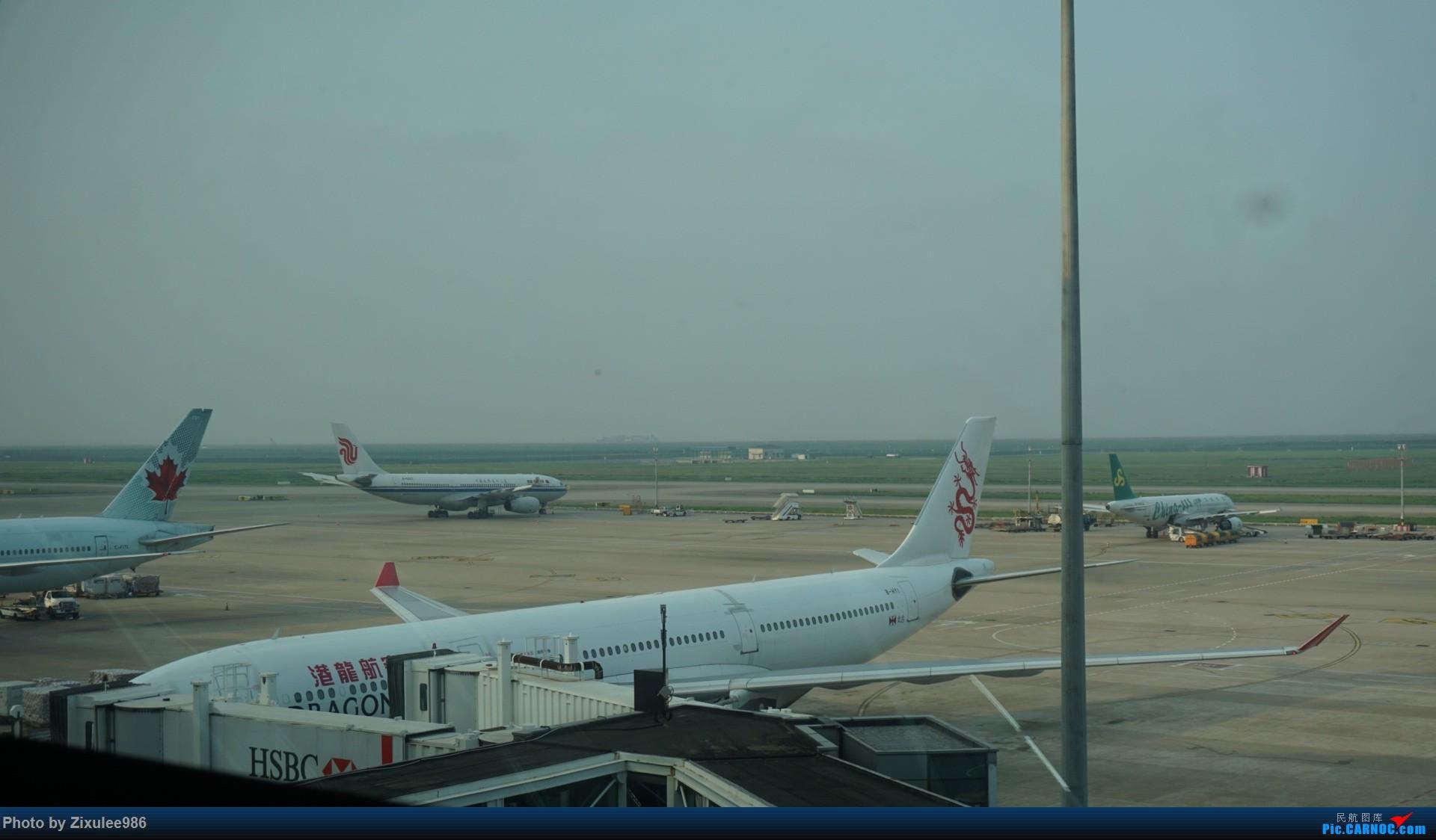 Re:[原创]加拿大21日游学之旅 (二)~加航AC28..PVG-YYZ到达多村后的雨天~多图缓更,请各位大侠谅解~ AIRBUS A330-300 B-HYI 中国上海浦东国际机场