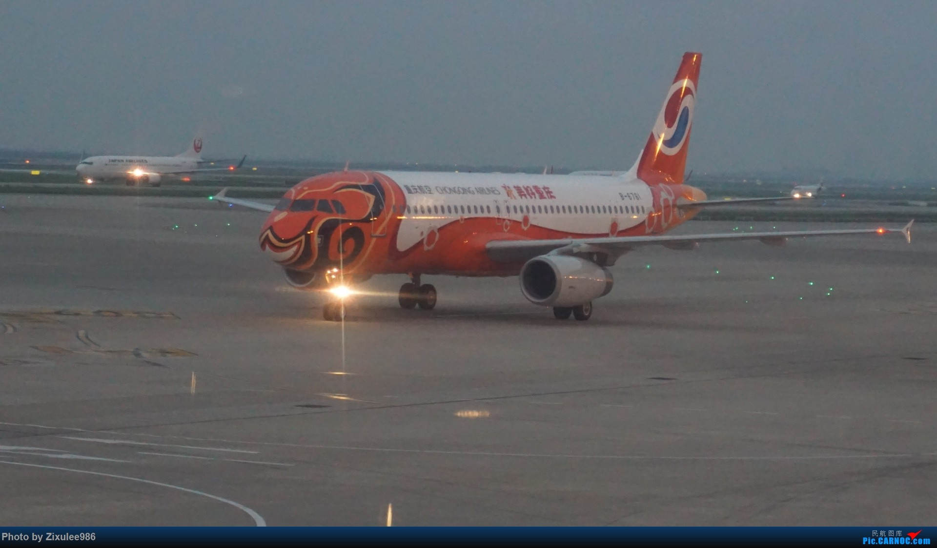 Re:[原创]加拿大21日游学之旅 (二)~加航AC28..PVG-YYZ到达多村后的雨天~多图缓更,请各位大侠谅解~ AIRBUS A320-232 B-6761 中国上海浦东国际机场