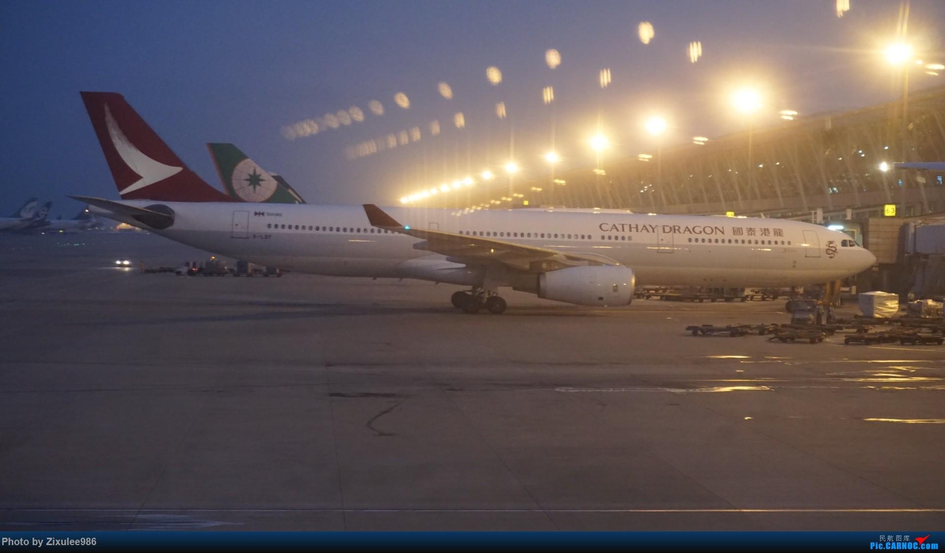 Re:[原创]加拿大21日游学之旅 (二)~加航AC28..PVG-YYZ到达多村后的雨天~多图缓更,请各位大侠谅解~ AIRBUS A330-343X B-LBF 中国上海浦东国际机场