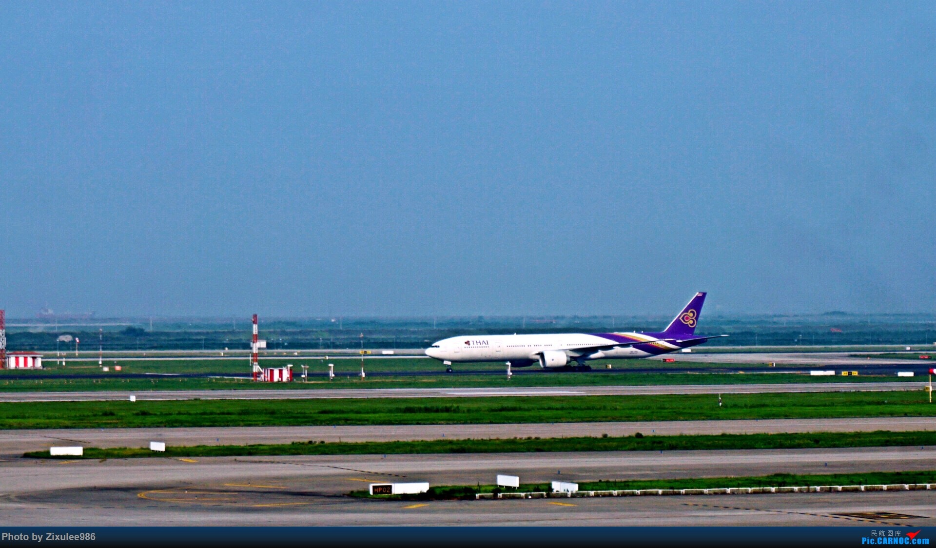 Re:[原创]加拿大21日游学之旅 (二)~加航AC28..PVG-YYZ到达多村后的雨天~多图缓更,请各位大侠谅解~ BOEING 777-300 (ER) HS-TKU 中国上海浦东国际机场