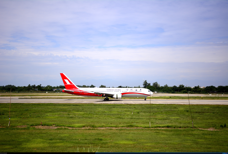 [原创]新人CTU刷机偶遇FM 767 (首发,求不喷) BOEING 767-300ER B-2566 中国成都双流国际机场